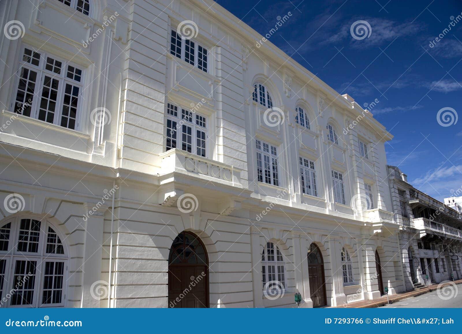 George Town Heritage Buildings Royalty Free Stock Image