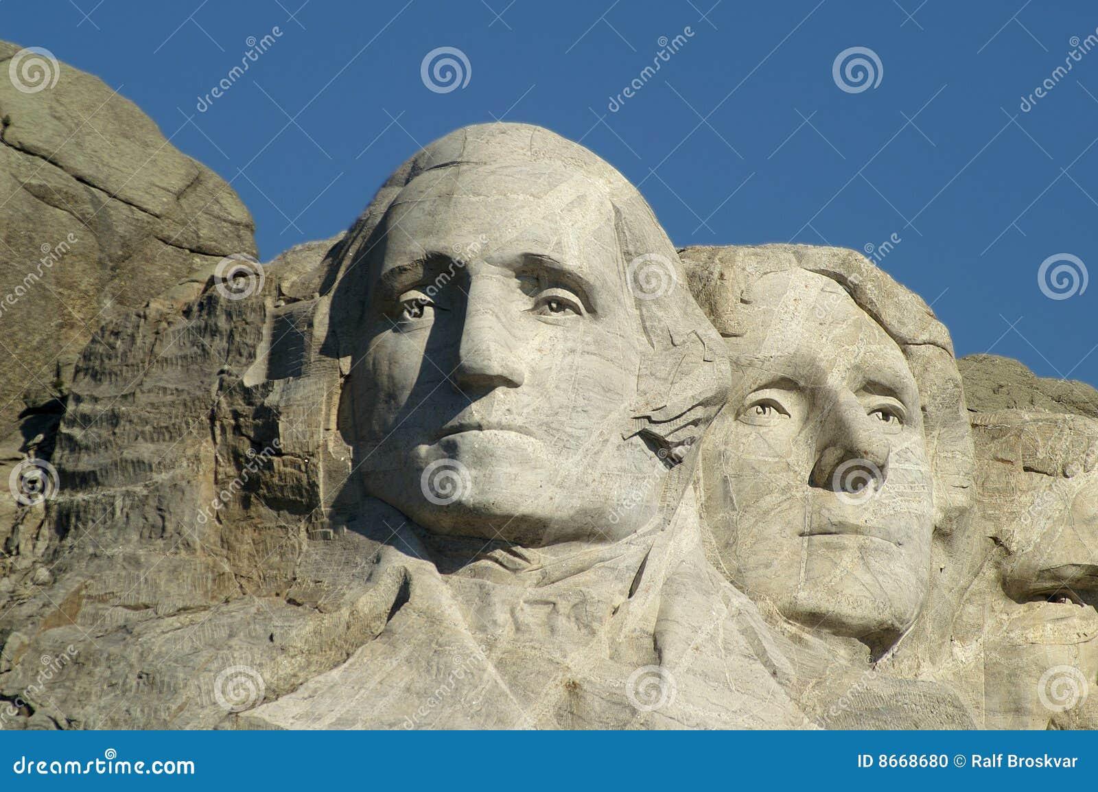 George Washington en Thomas Jefferson