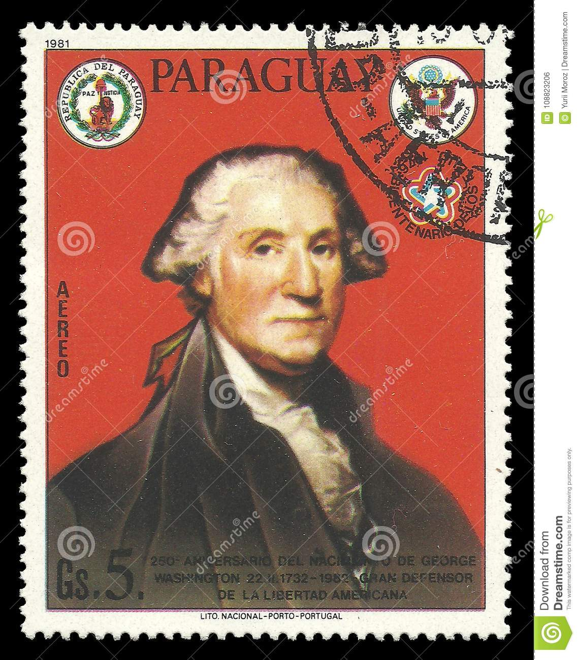 George Washington First President Of The USA Editorial Photo - Image ...