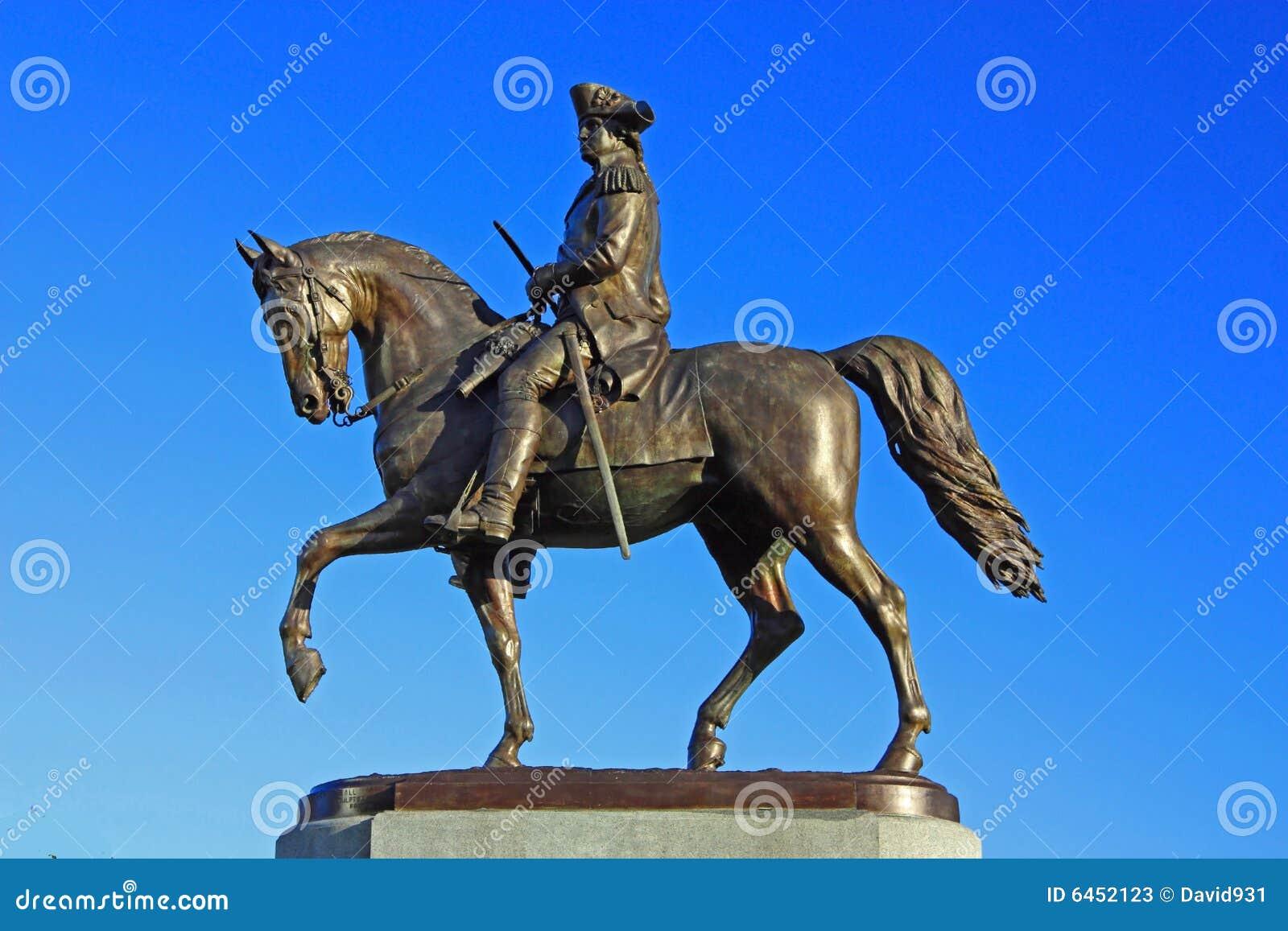 George Washington posąg