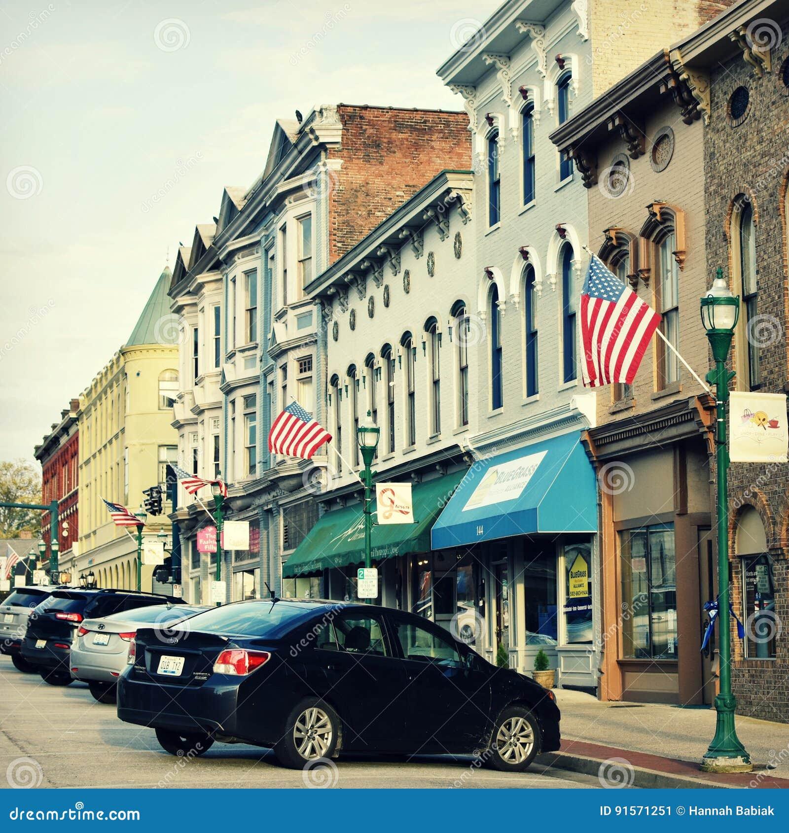 Georgetown do centro histórico, Kentucky