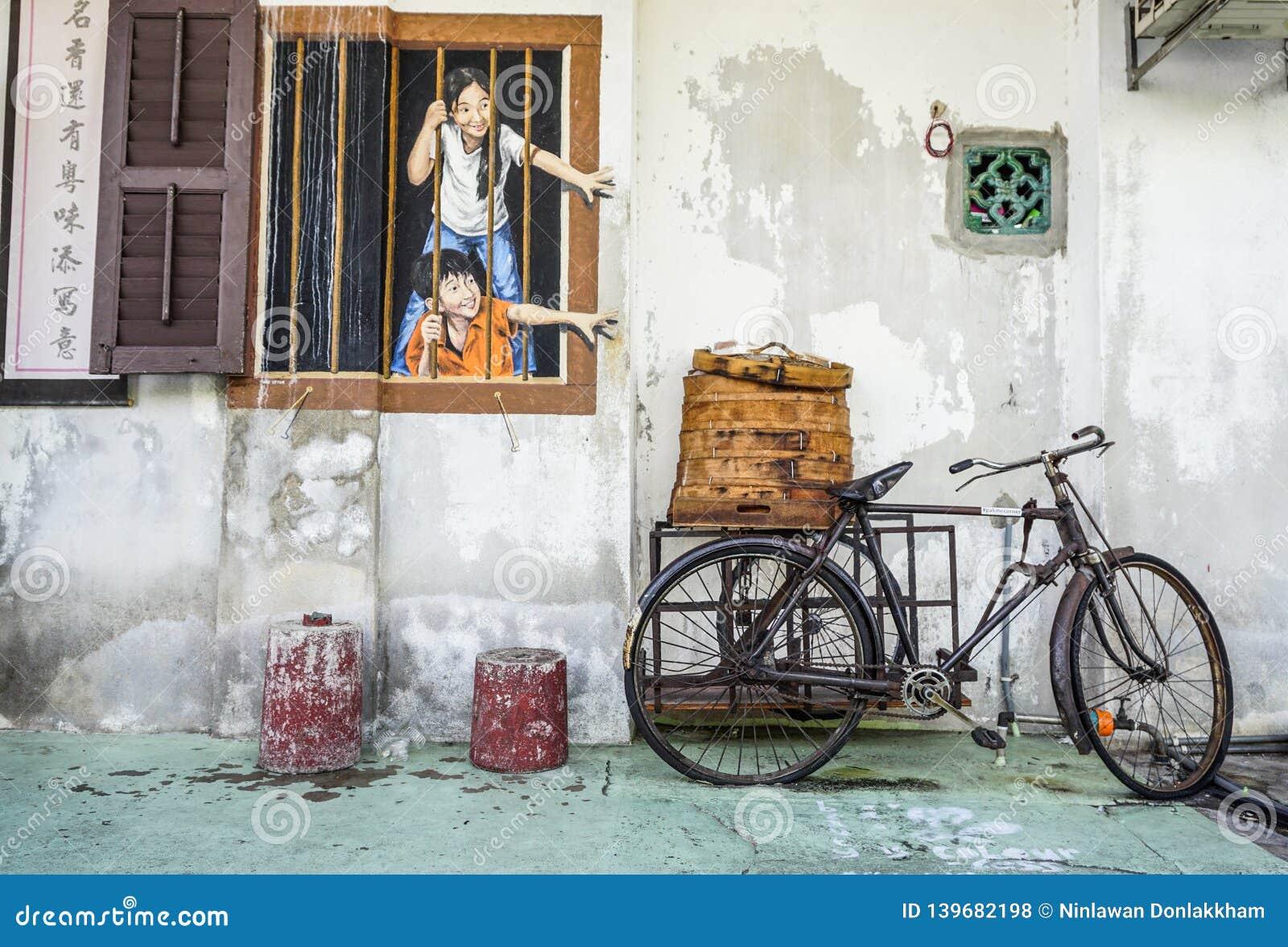 Penang Street Art, Georgetown Attractions