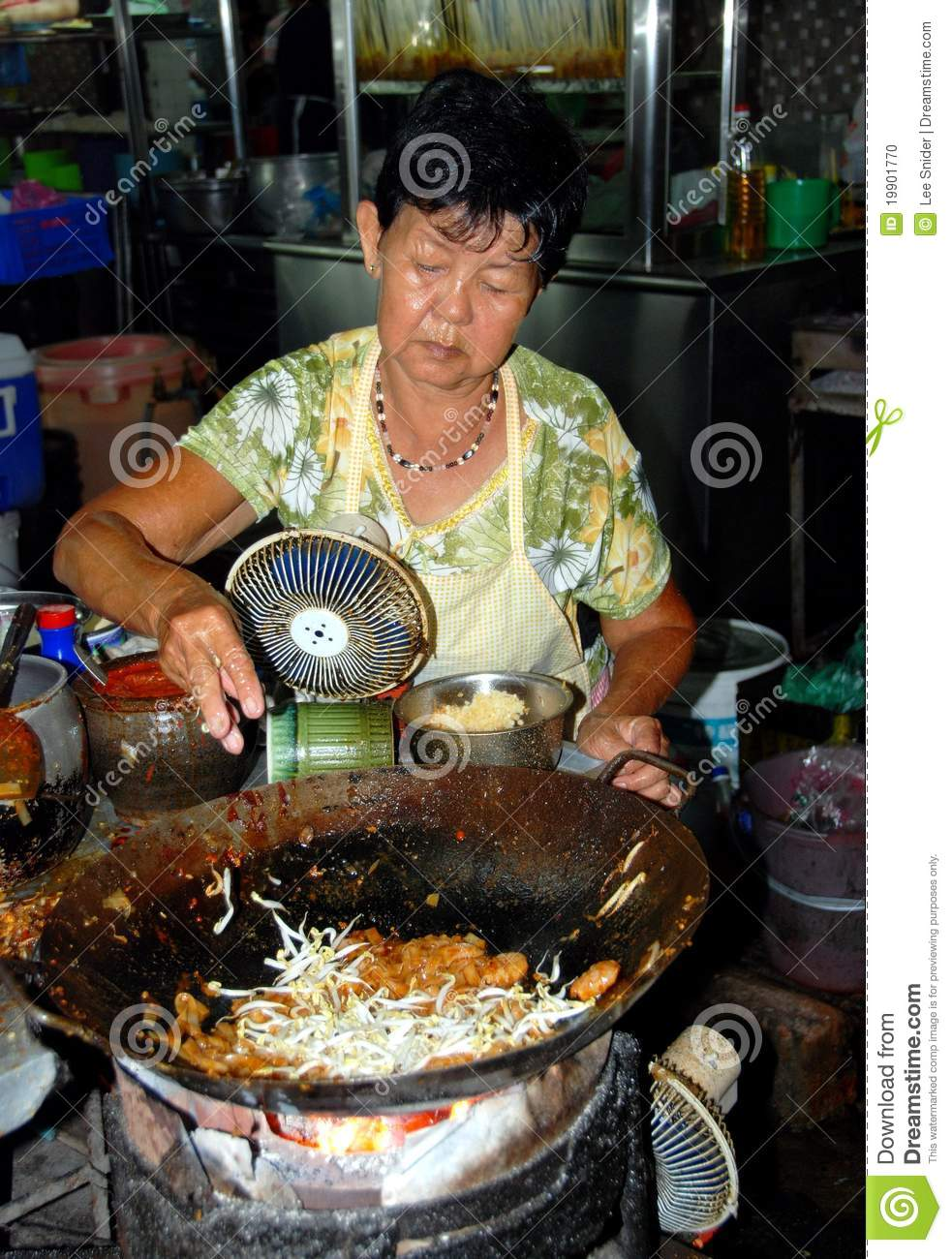 outdoor asian cooking