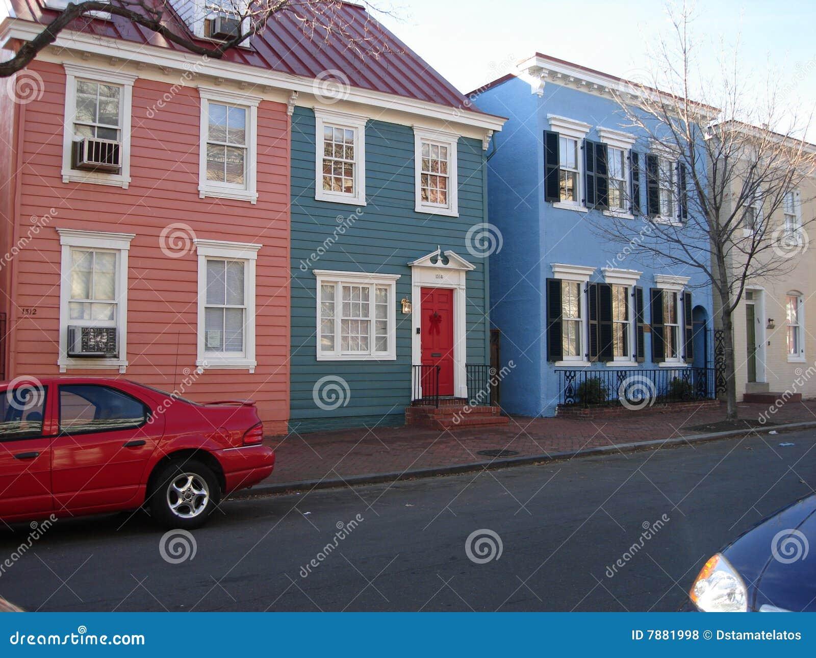 Georgetown rowhomes