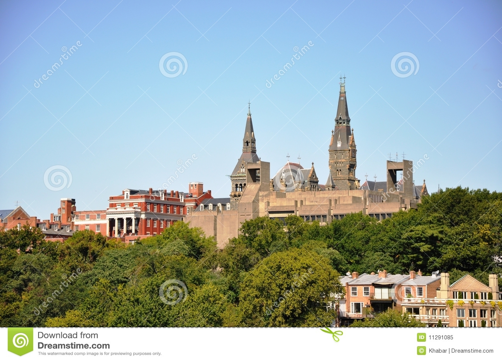 Georgetown University. Royalty Free Stock Photo - Image ...