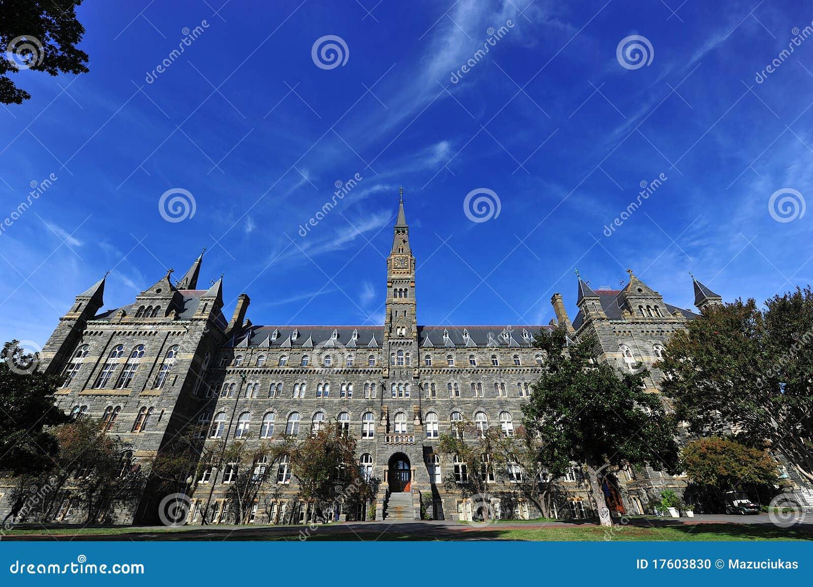 Georgetown University Stock Photo - Image: 17603830