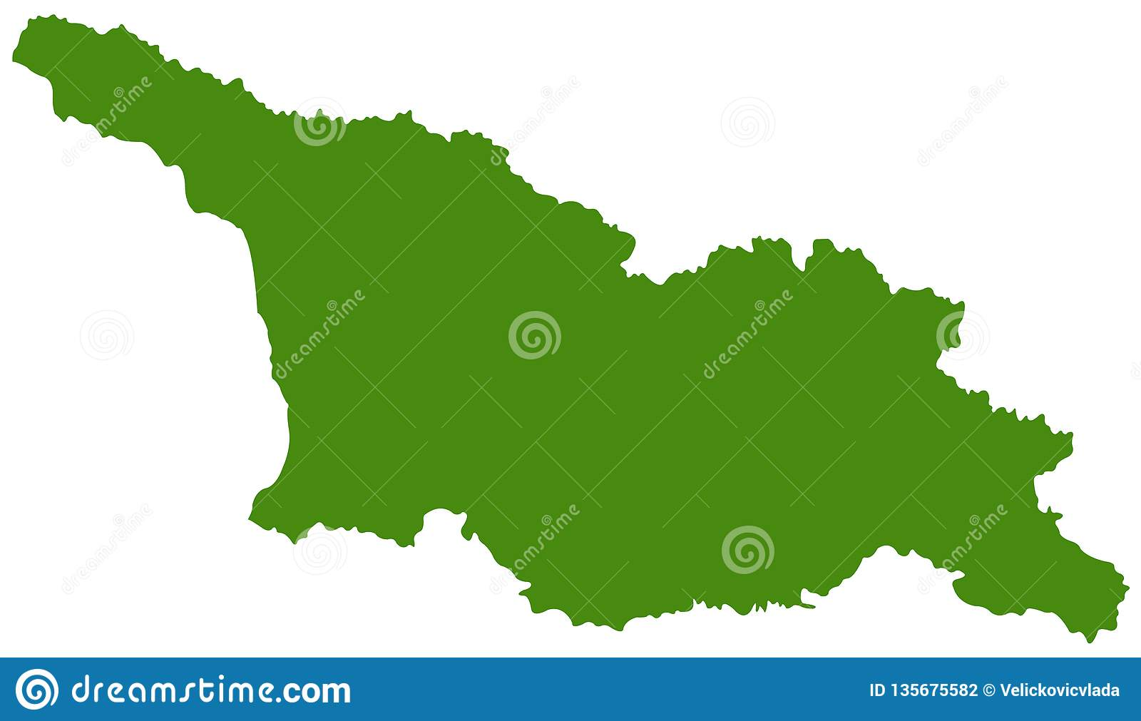 Where Is The Country Of Georgia Located On A Map.Georgia Country Map Is A Country In The Caucasus Region Of Eurasia