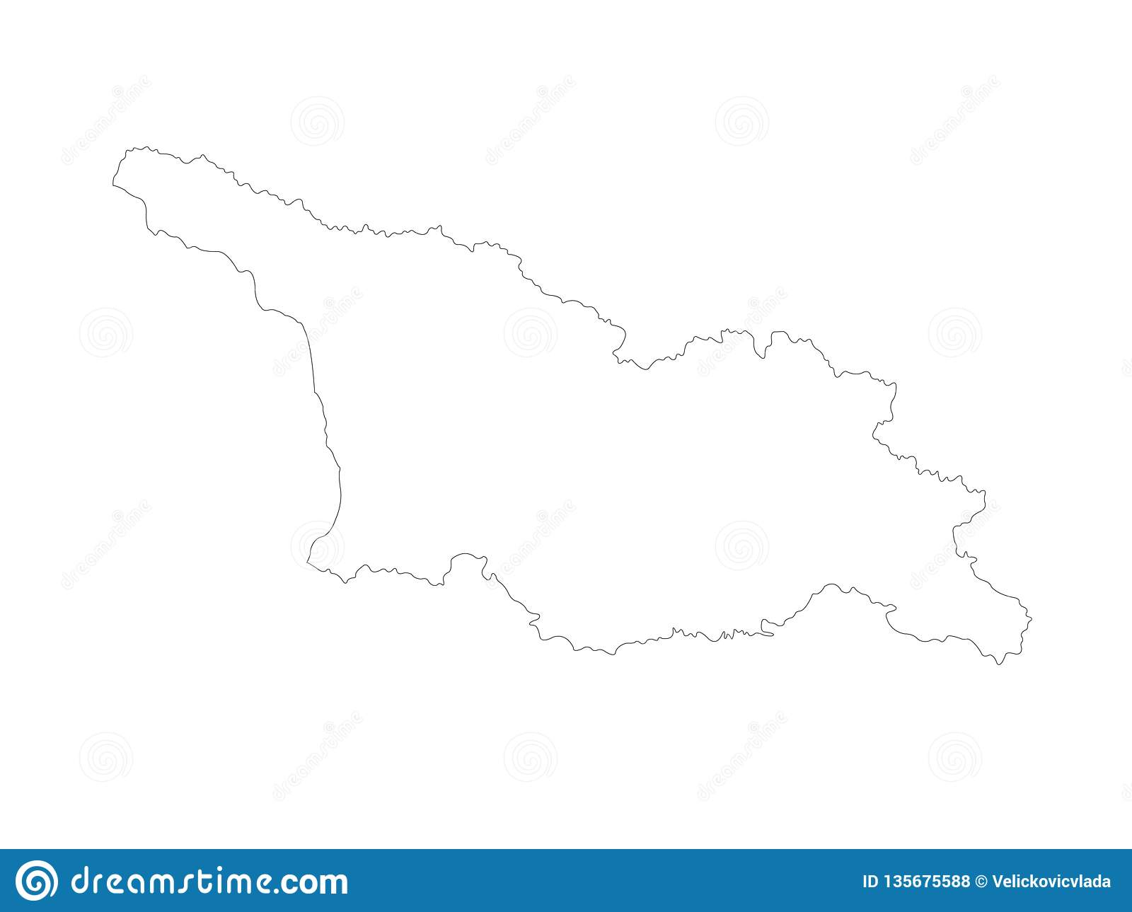 Country Of Georgia Map.Georgia Country Map Is A Country In The Caucasus Region Of Eurasia