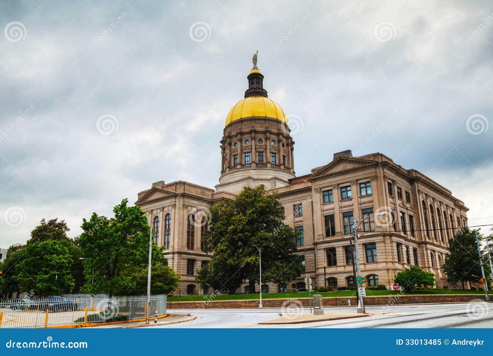 Atlanta georgia state capitol royalty free stock photo for Georgia builders