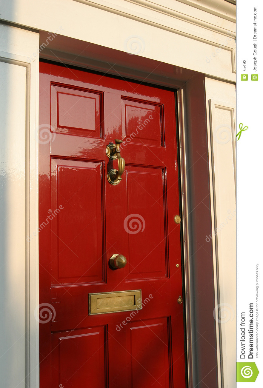 Georgian House Door Exterior Stock Photo Image Of Door Britain 75492