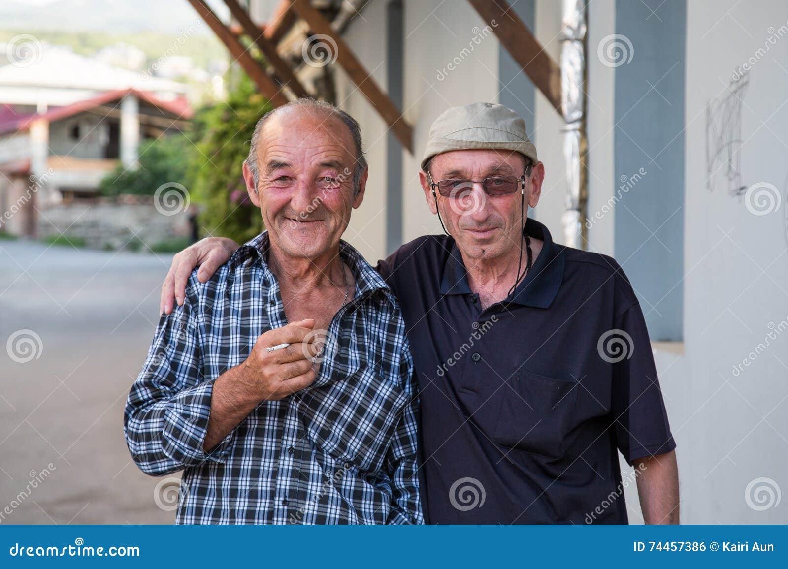 Georgian men