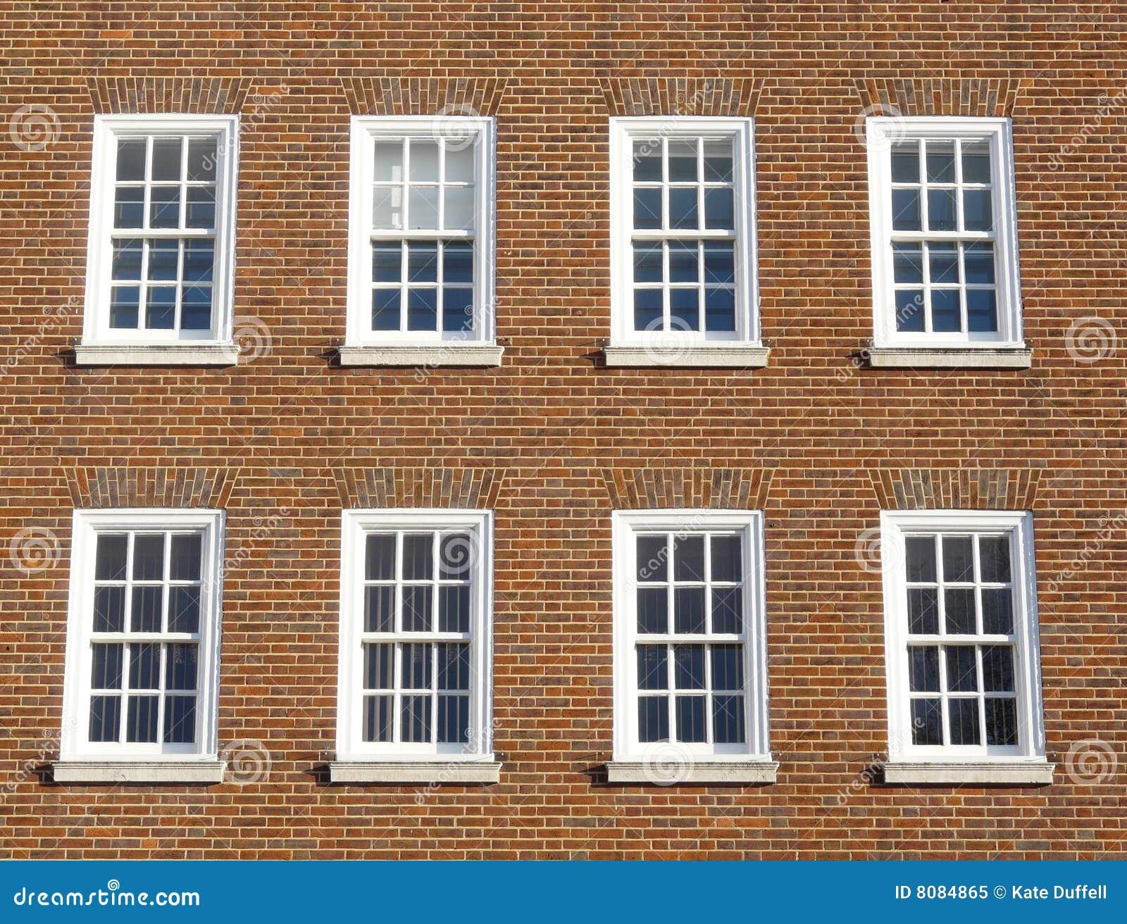Georgian Windows Royalty Free Stock Photo Image 8084865