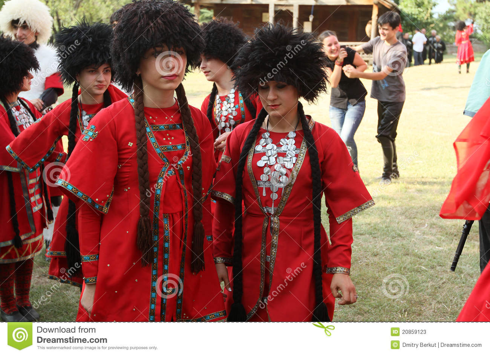 Georgisches Volkskunst-Gen-Festival