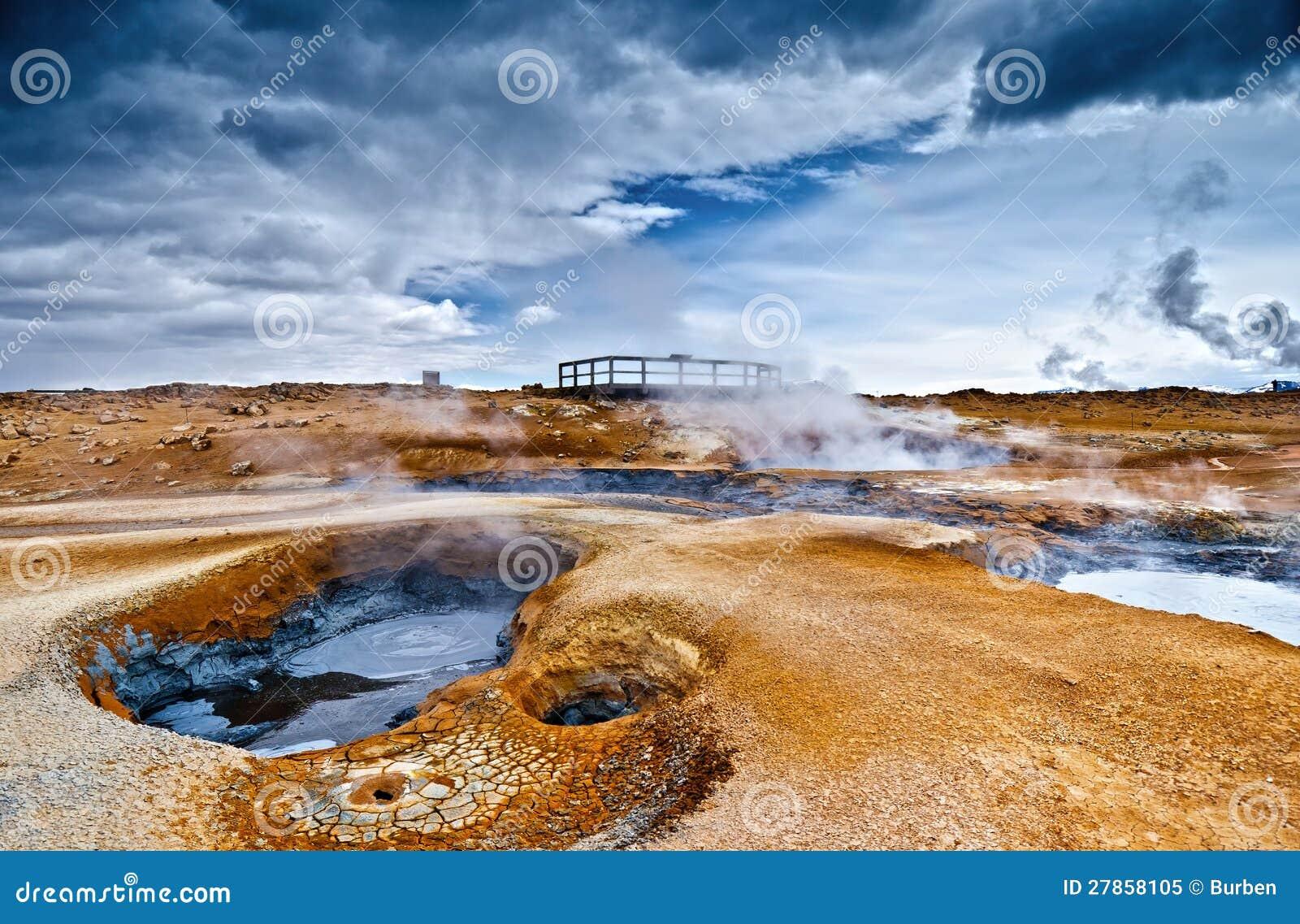 Geotermiczny Hverir Miejsce