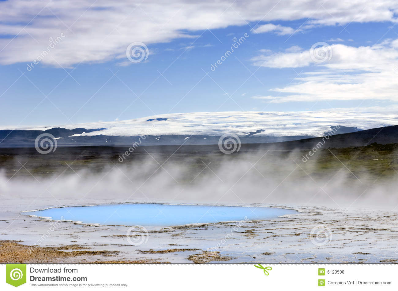 Geothermal Activity Royalty Free Stock Photos - Image: 6129508