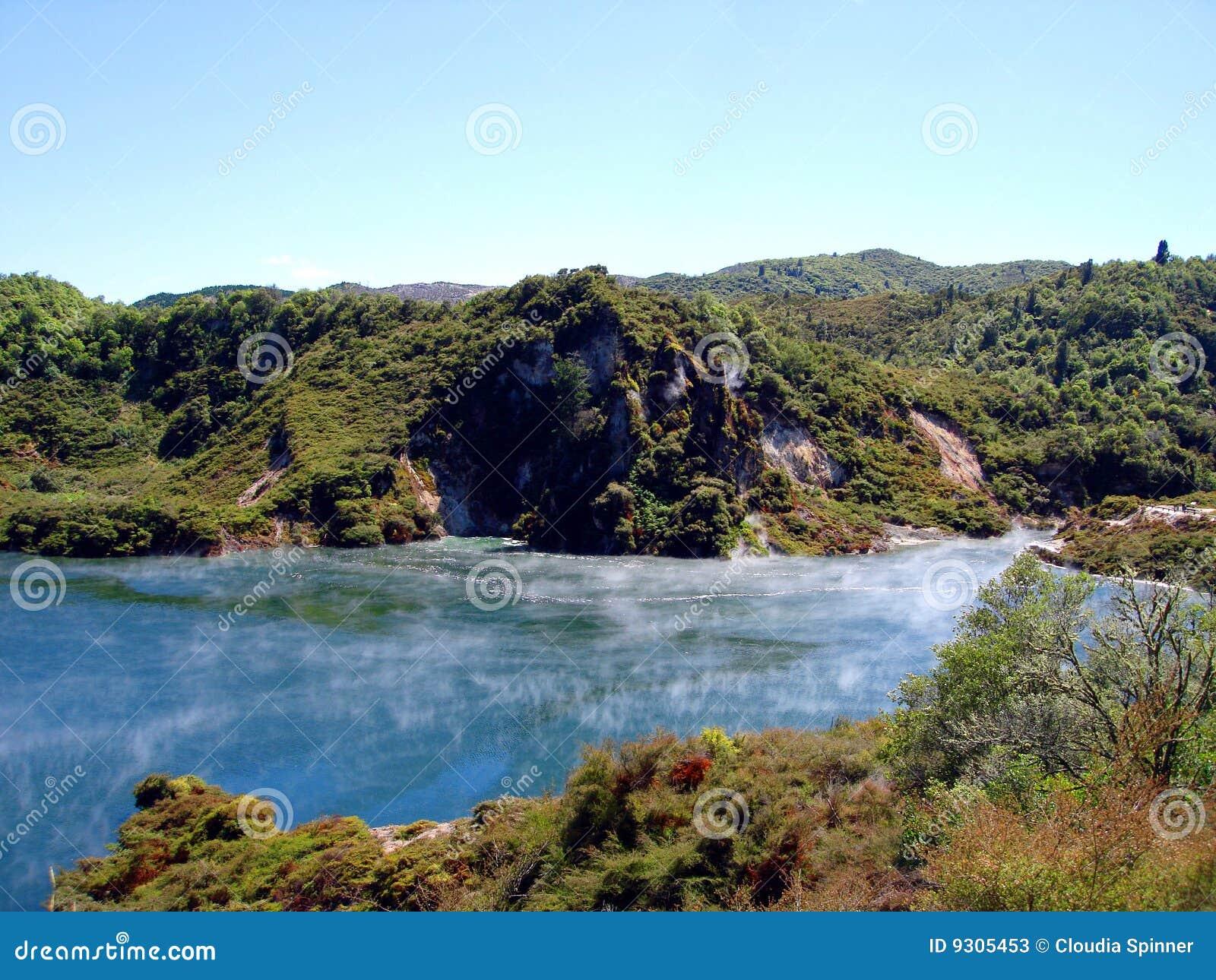 Geothermal Activity,Waimangu, Rotorua, New Zealand
