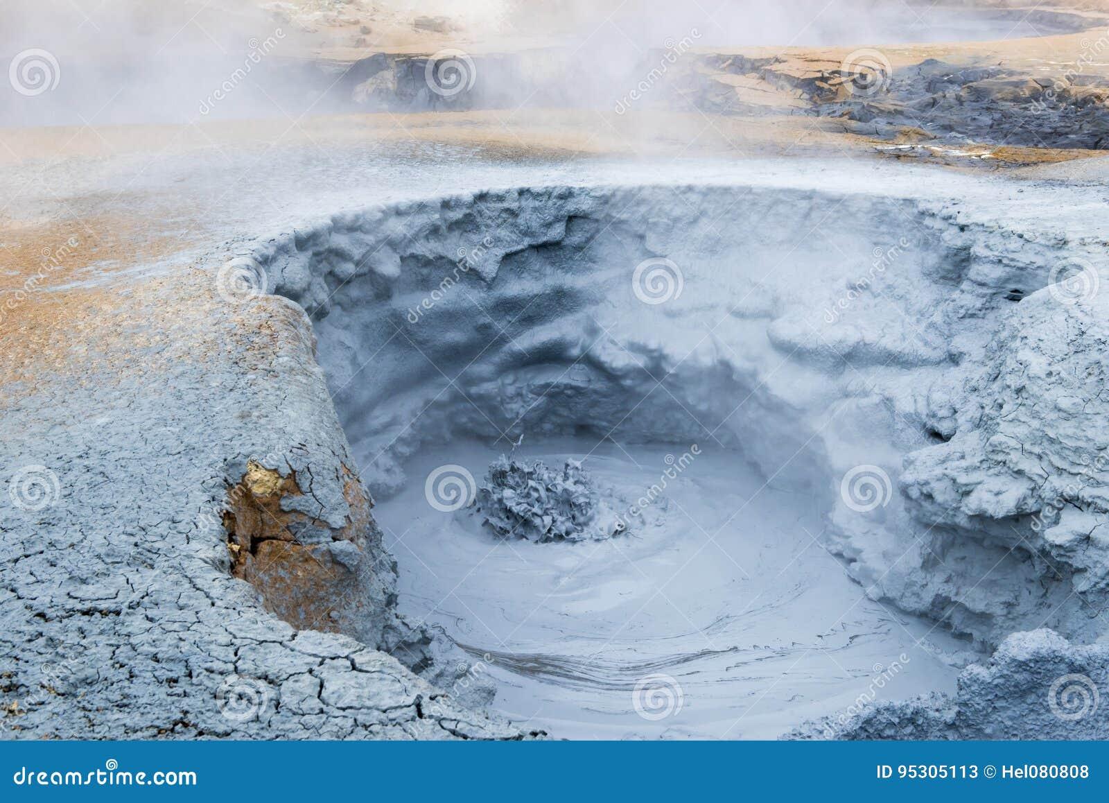 Geothermal field Namaskard, Iceland