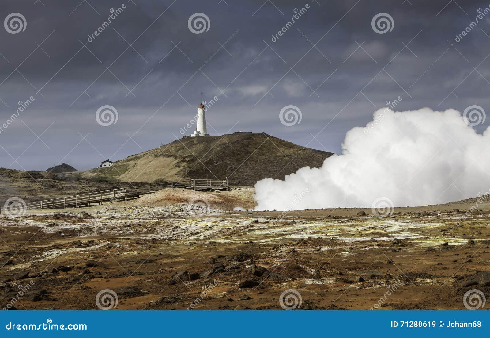 Geothermisch gebied in IJsland