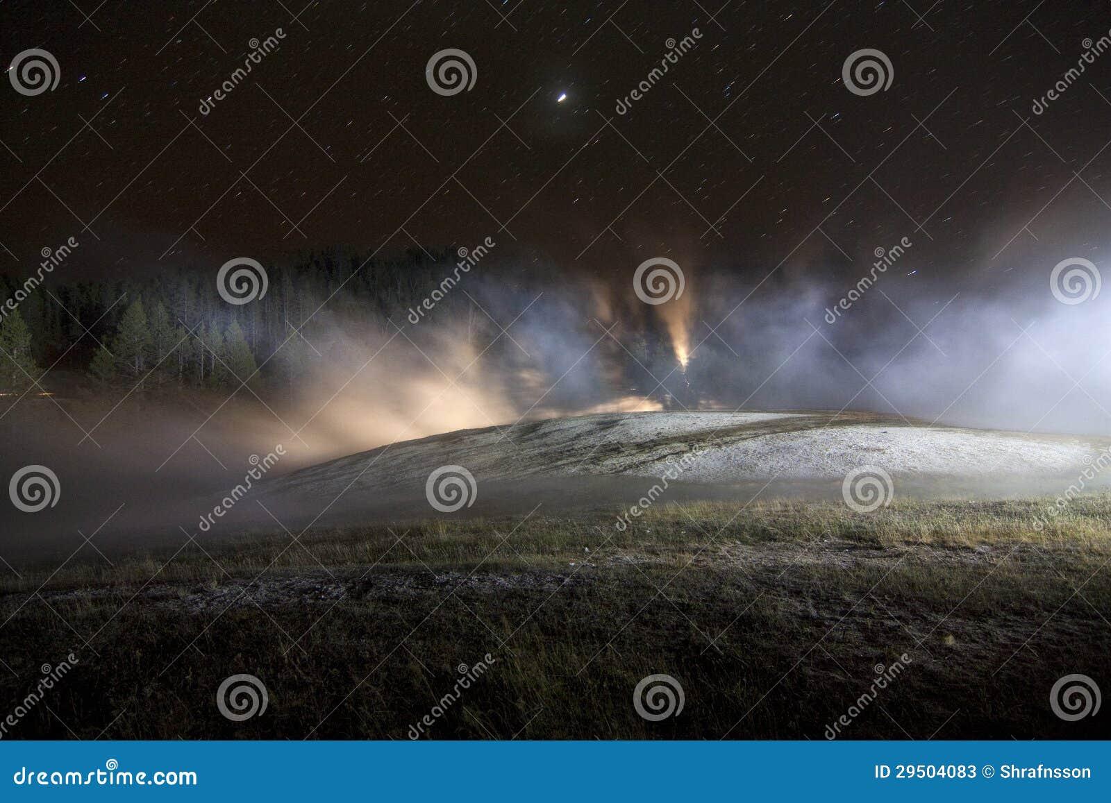 Geothermisch Geschilderd met Licht