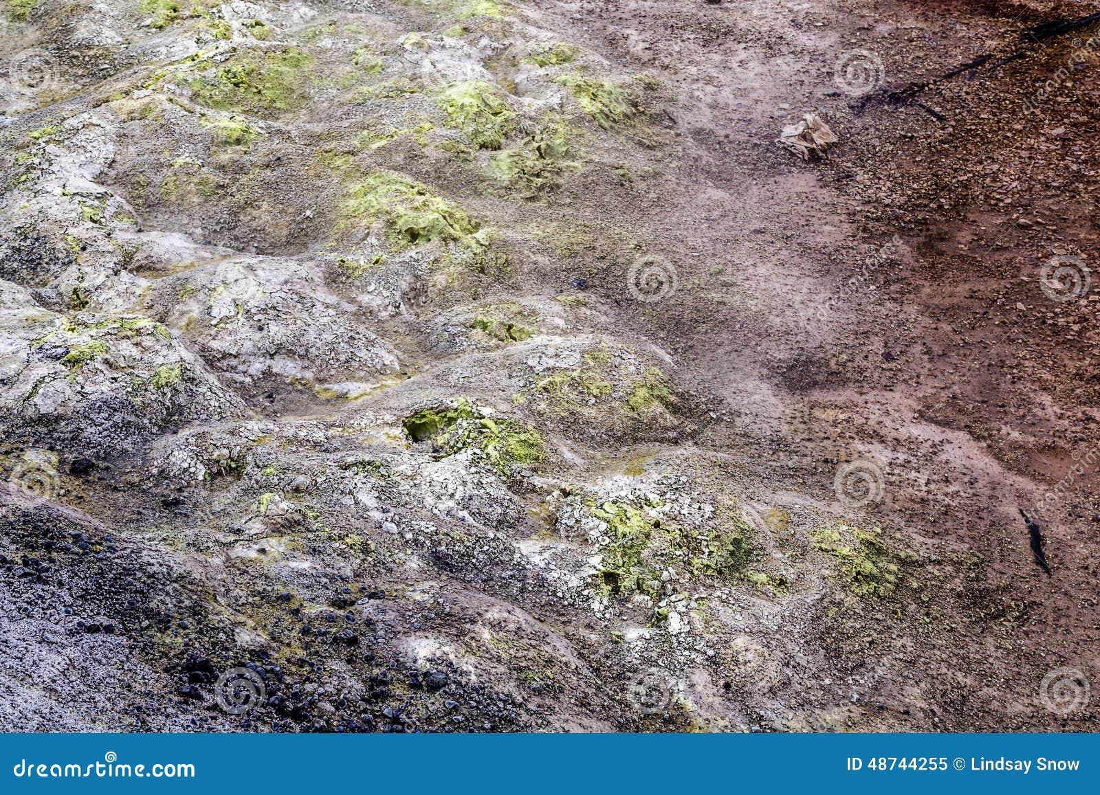 Geothermisch landschap