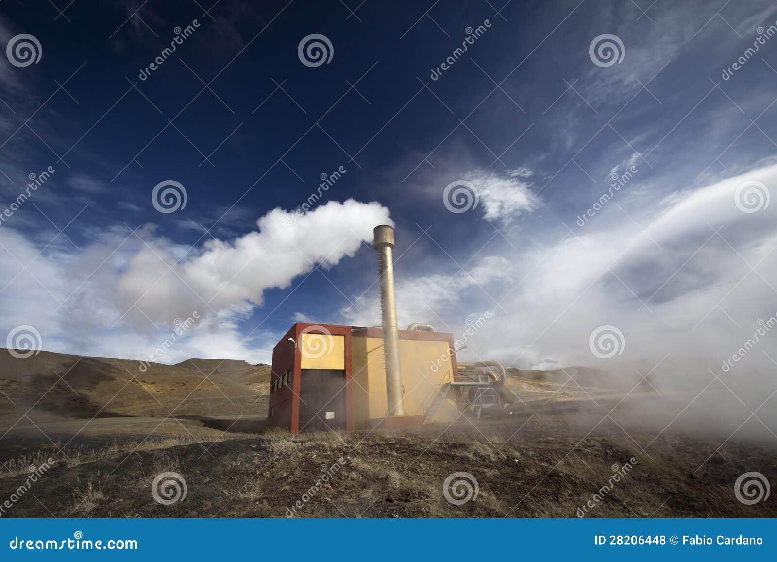 Geothermische energieinstallatie