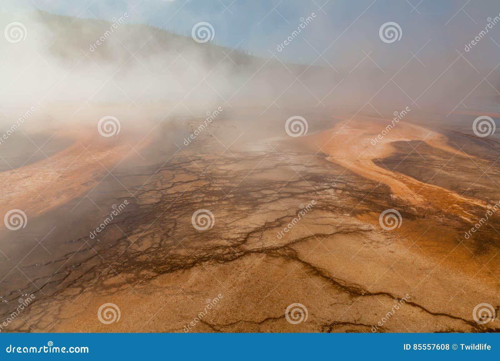 Geothermische heiße Quellen