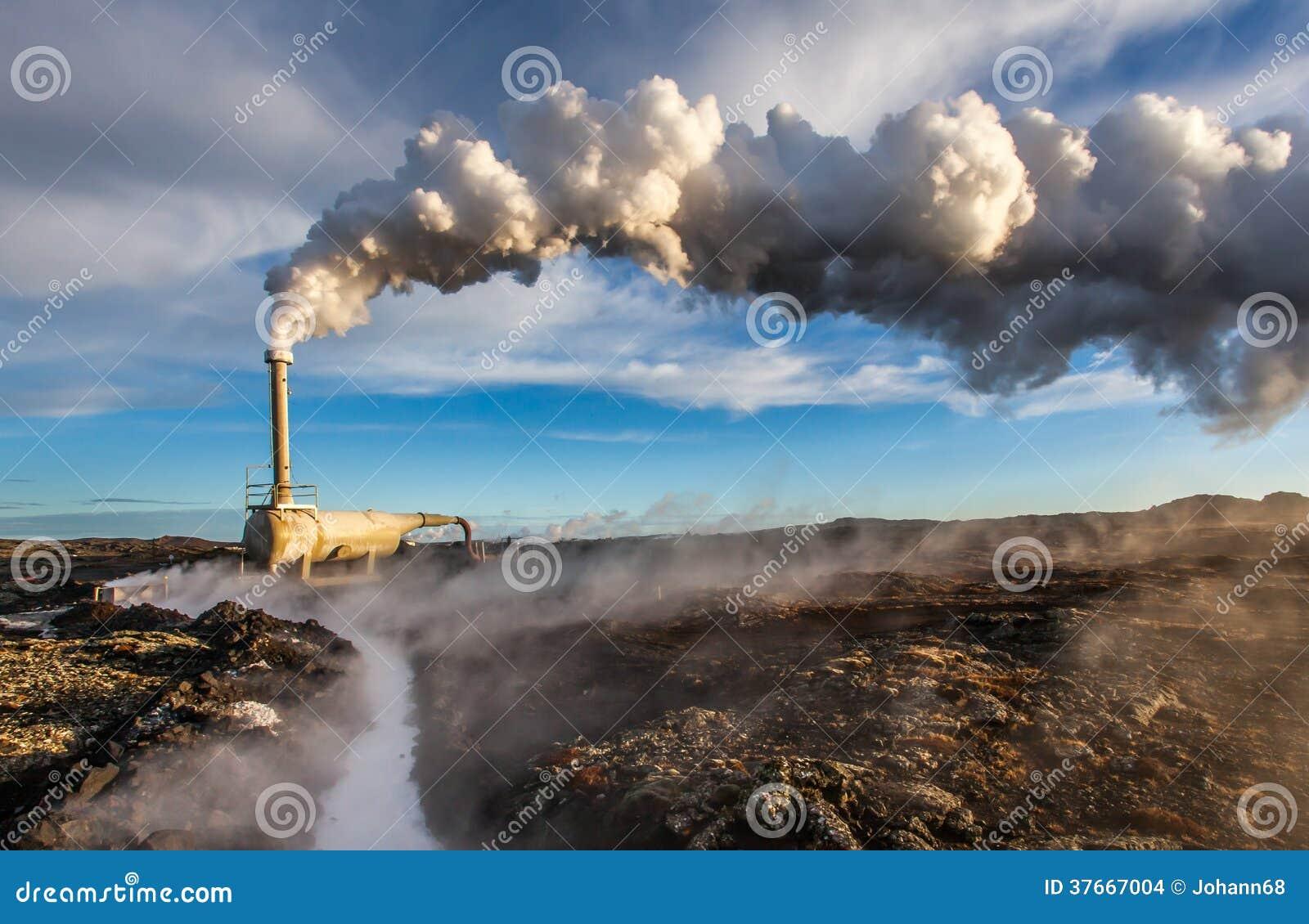 Geothermisches Bohrloch