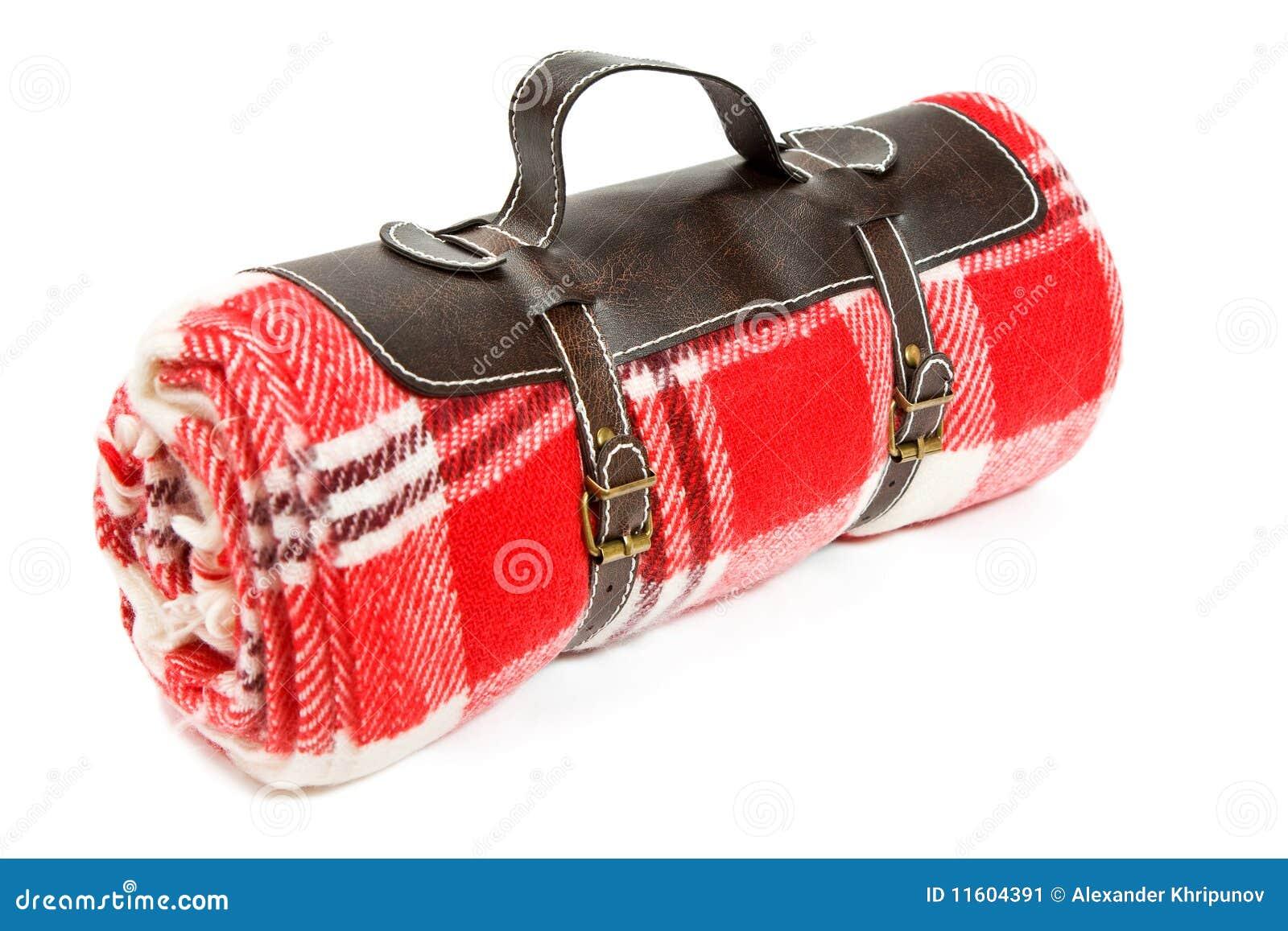 Gepackte Decke für Sonntags Picknick