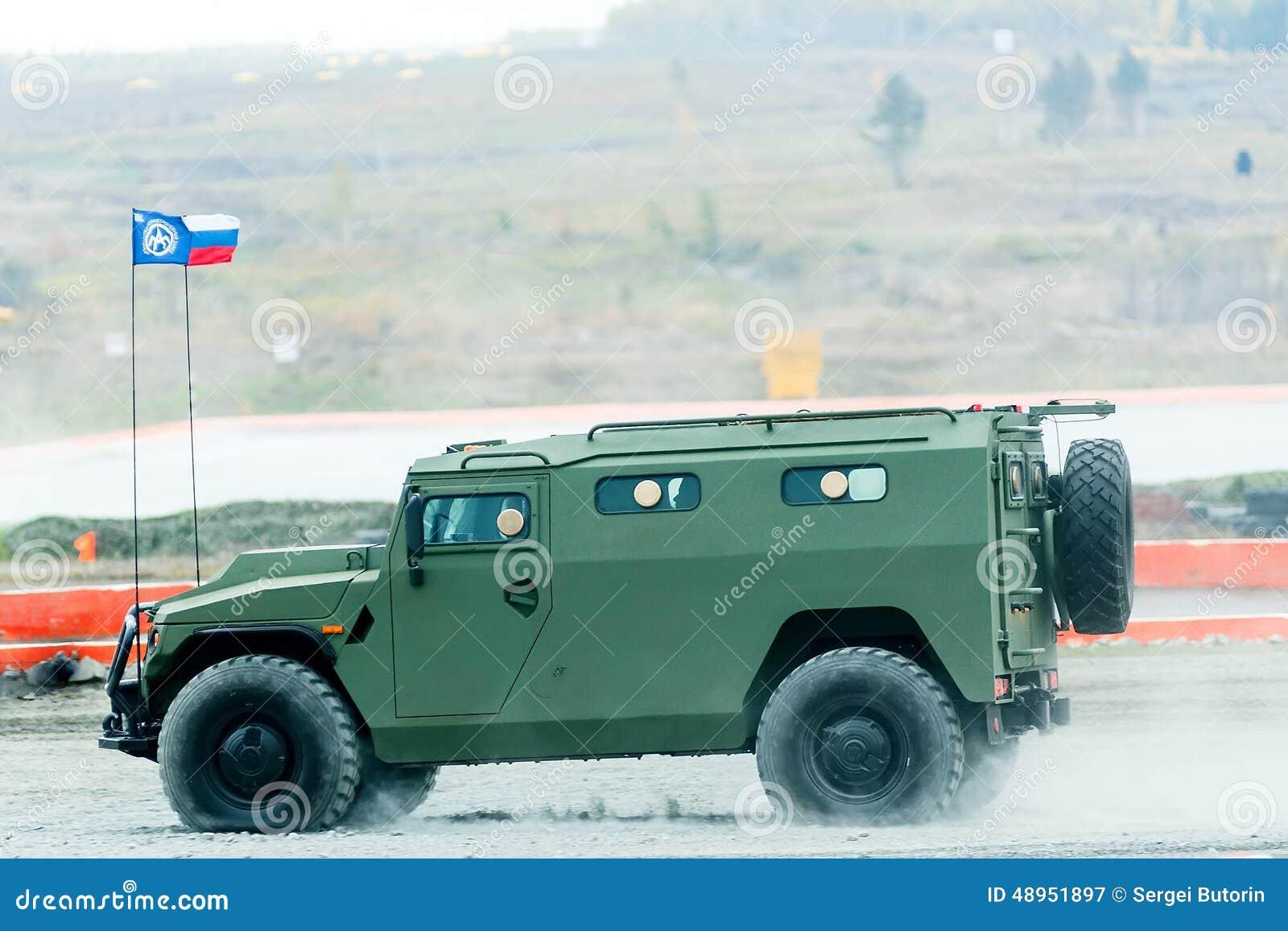 Gepanzertes Fahrzeug des Tigers-m VIPS-233115 Russland