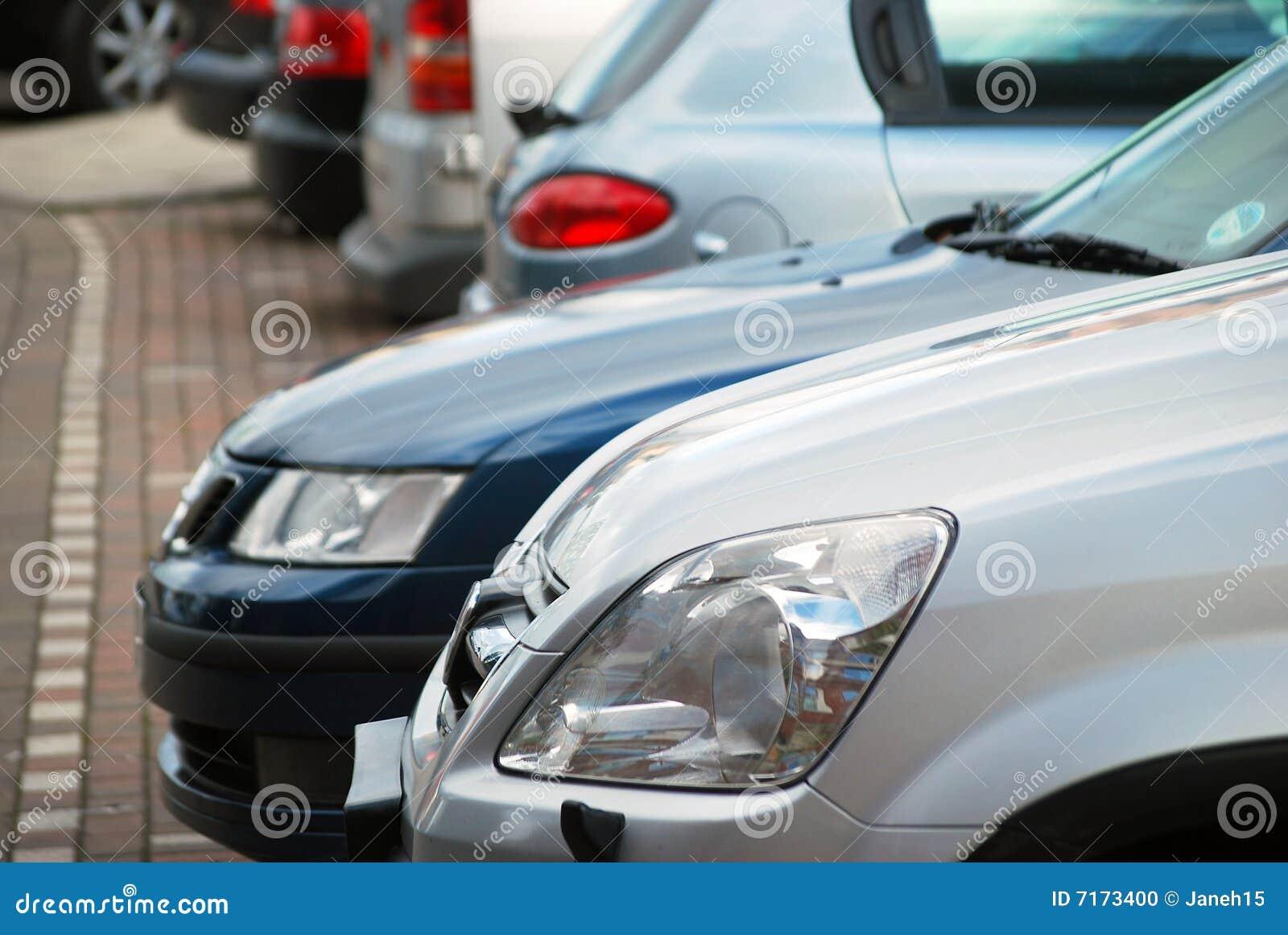 Geparkeerde auto s