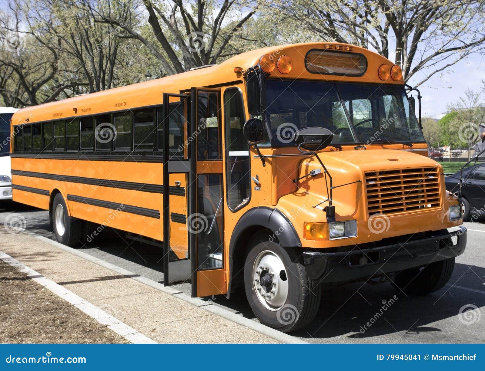 Geparkeerde Schoolbus