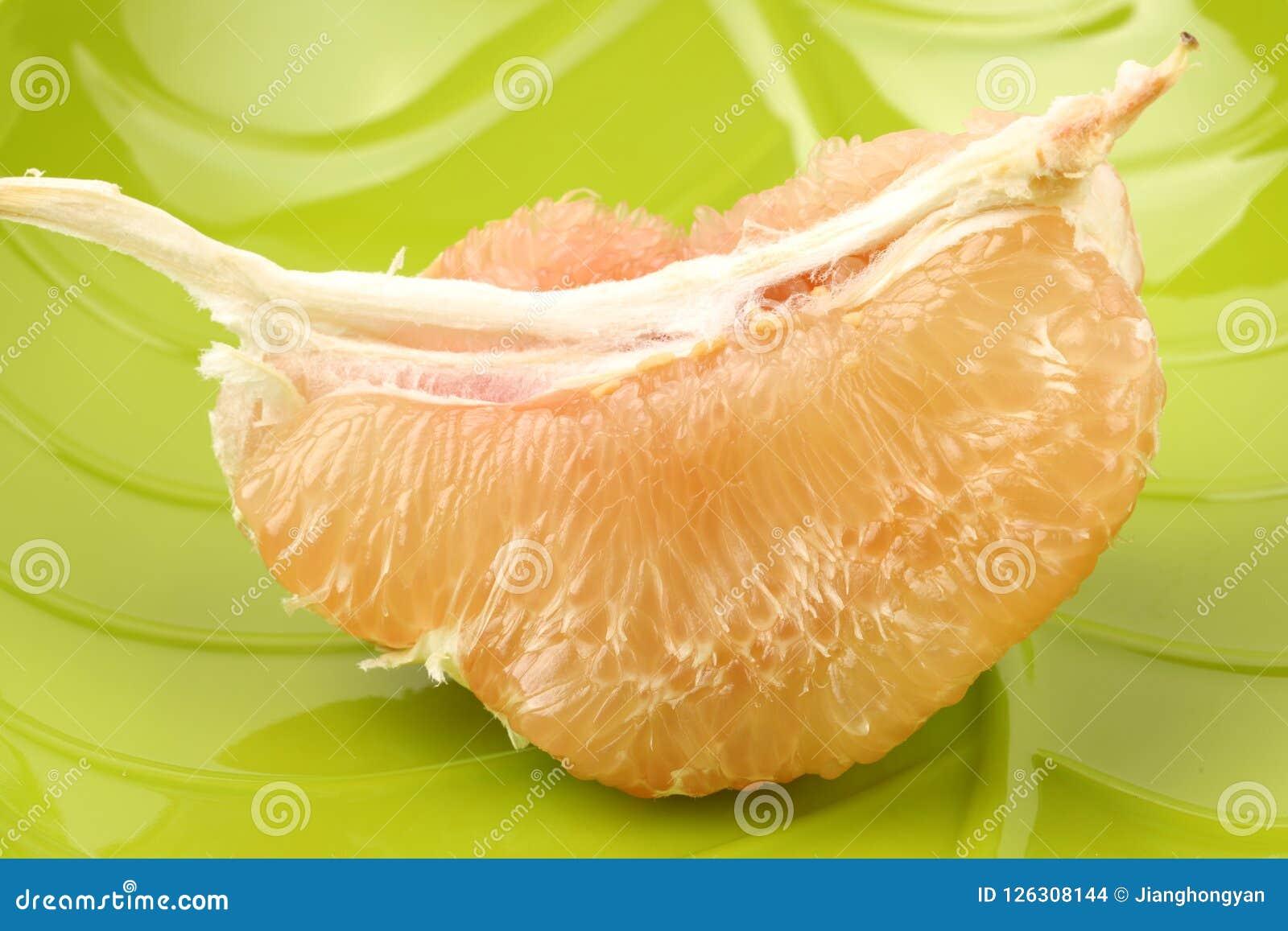 Gepelde grapefruit