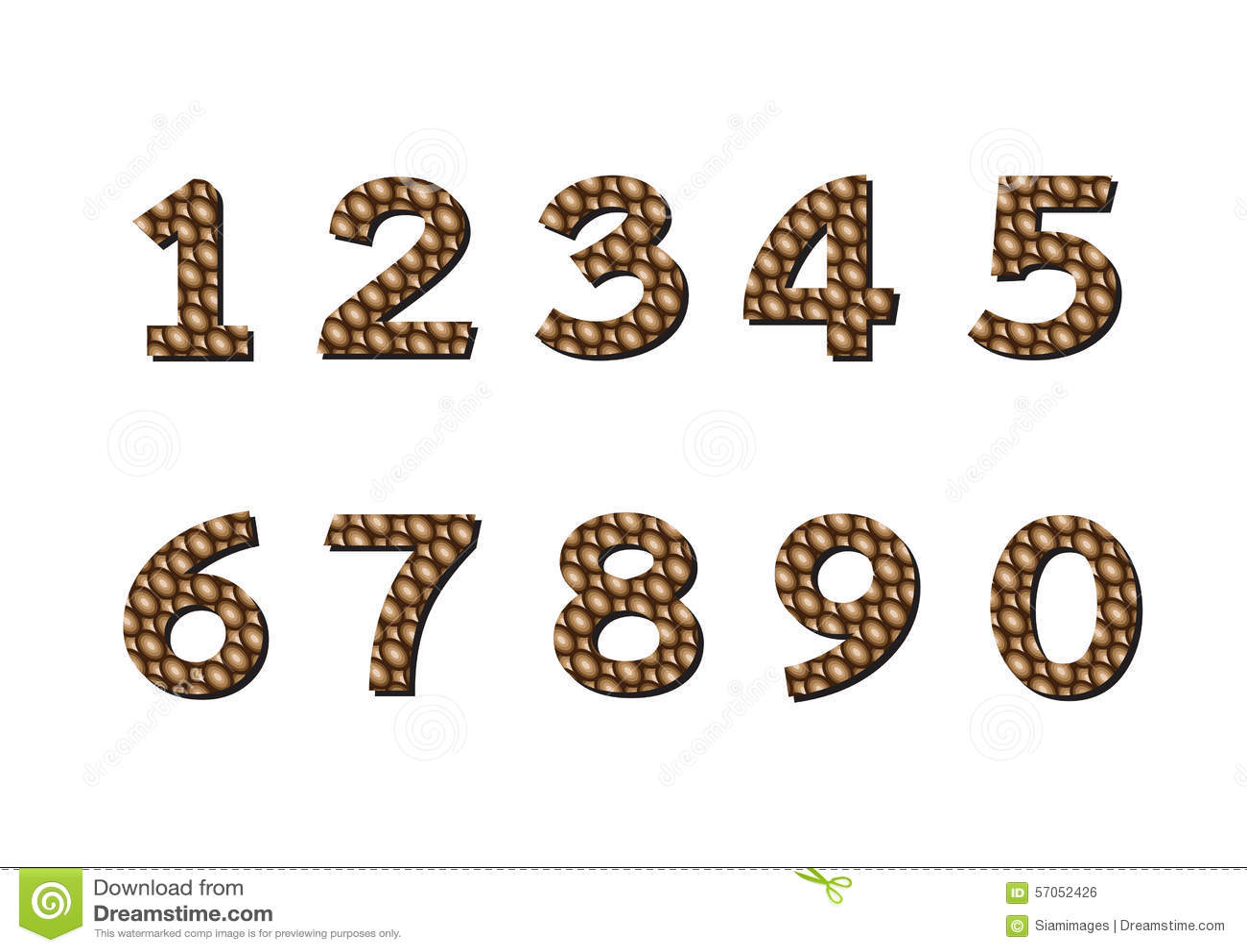 Geplaatste aantallen Illustratie