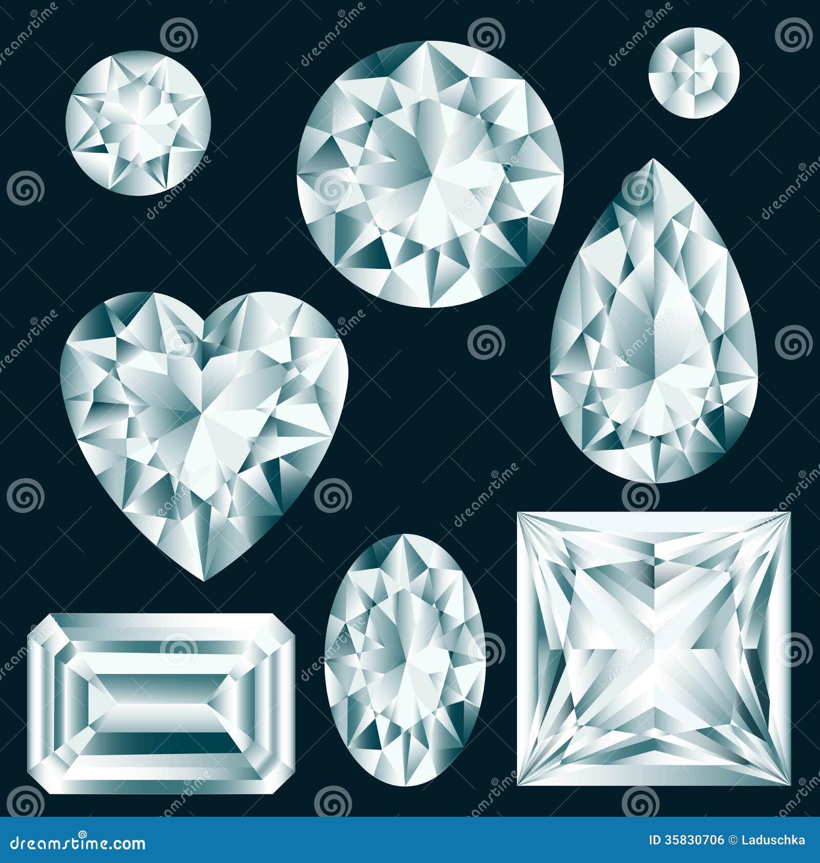 Geplaatste diamanten