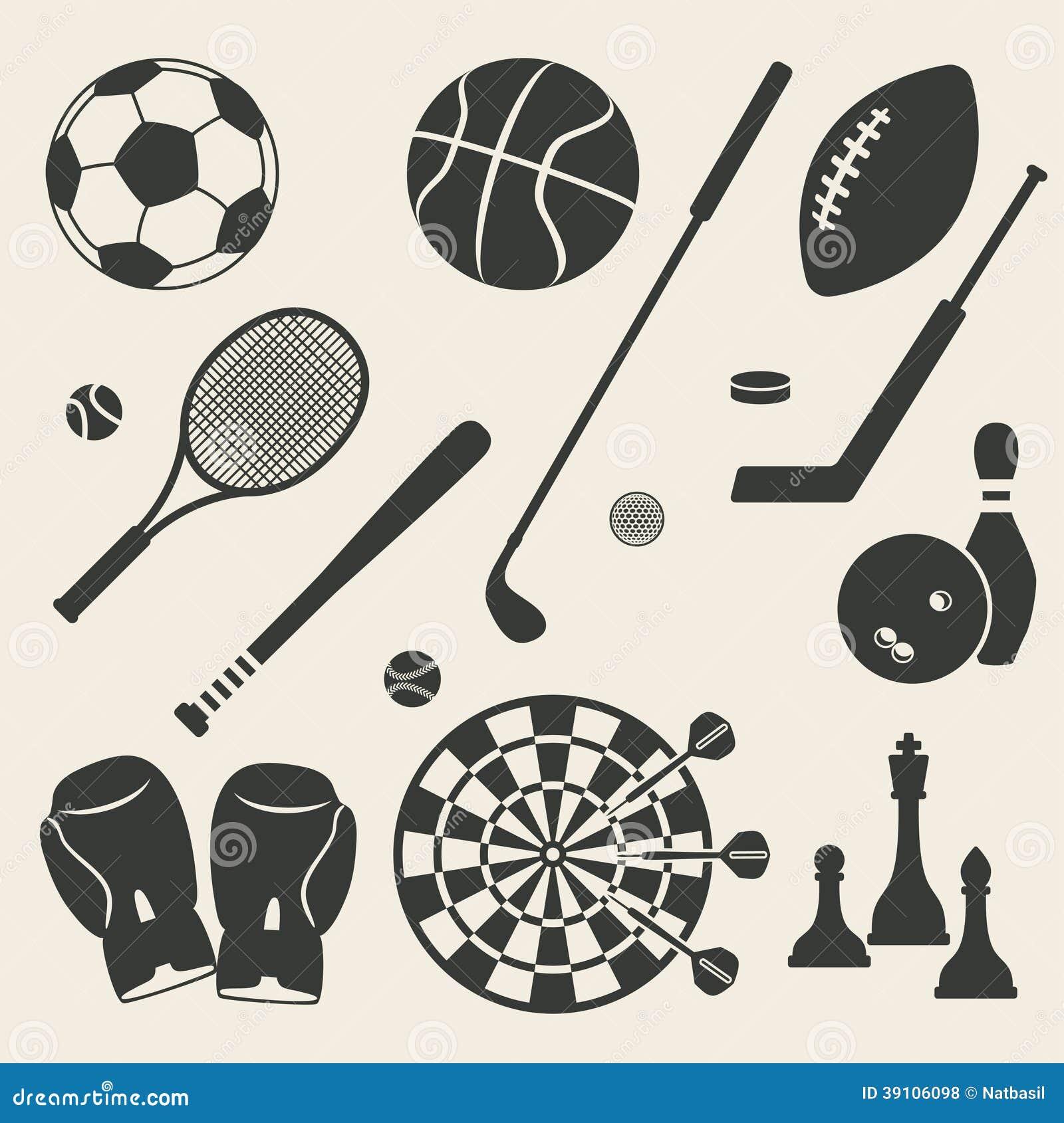 Geplaatste sportpictogrammen