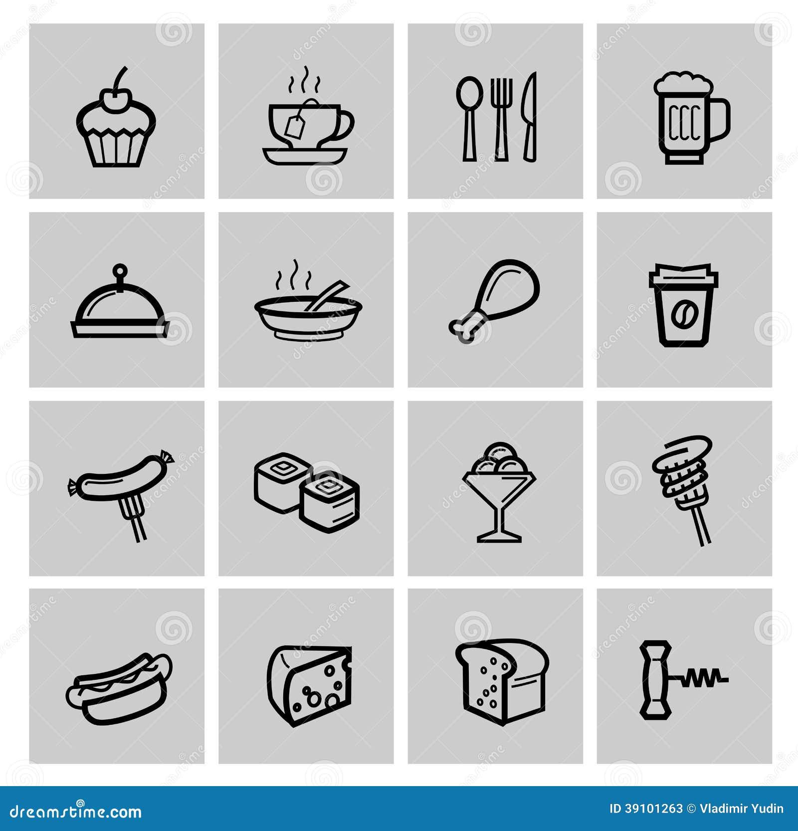 Geplaatste voedselpictogrammen