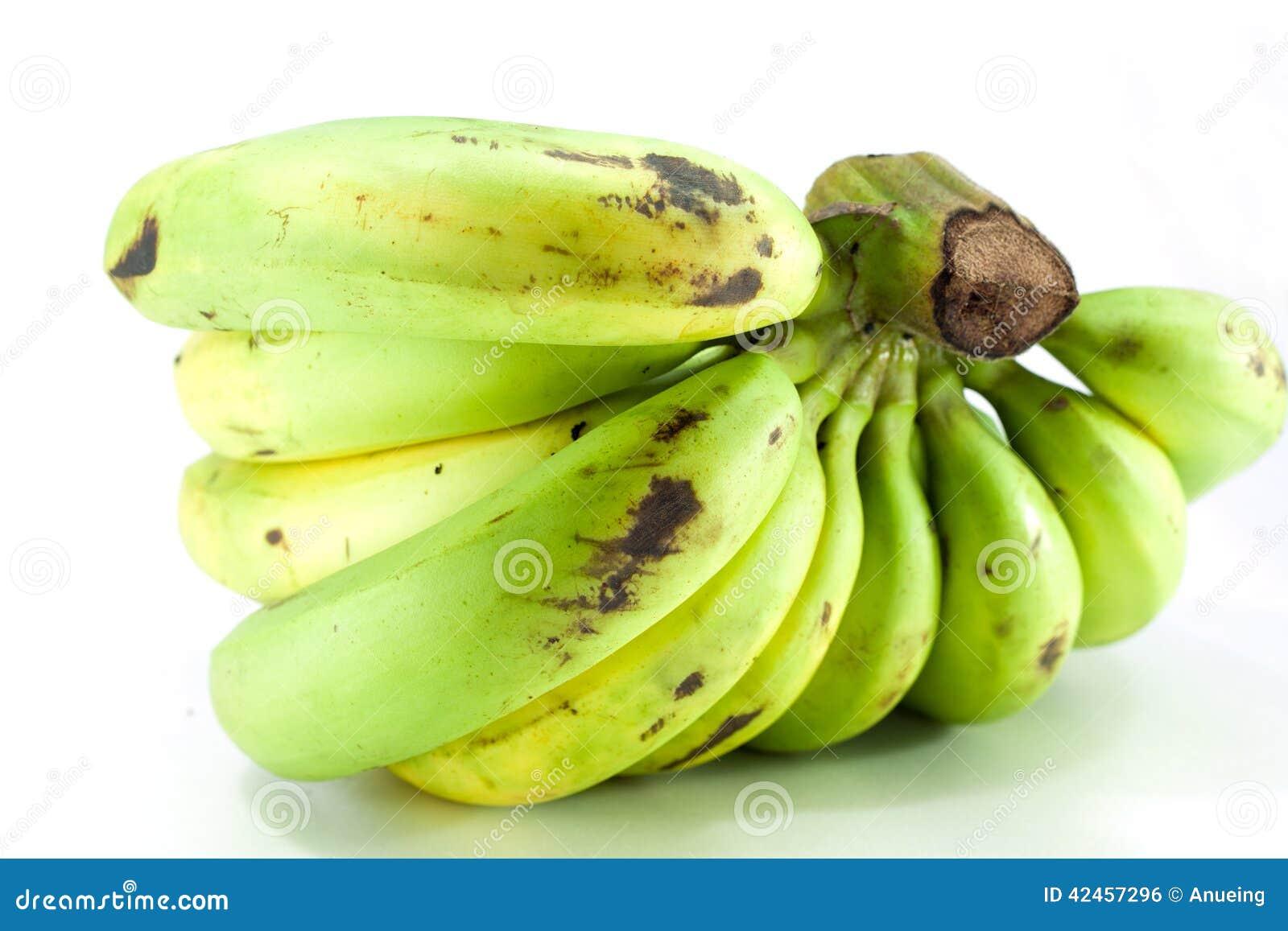 Gequetschte grüne Banane