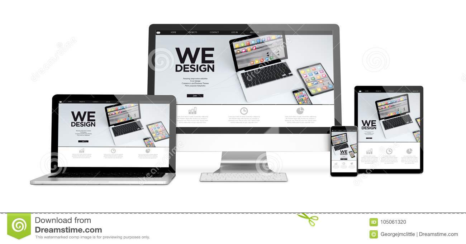 Geräte lokalisierten wedesign