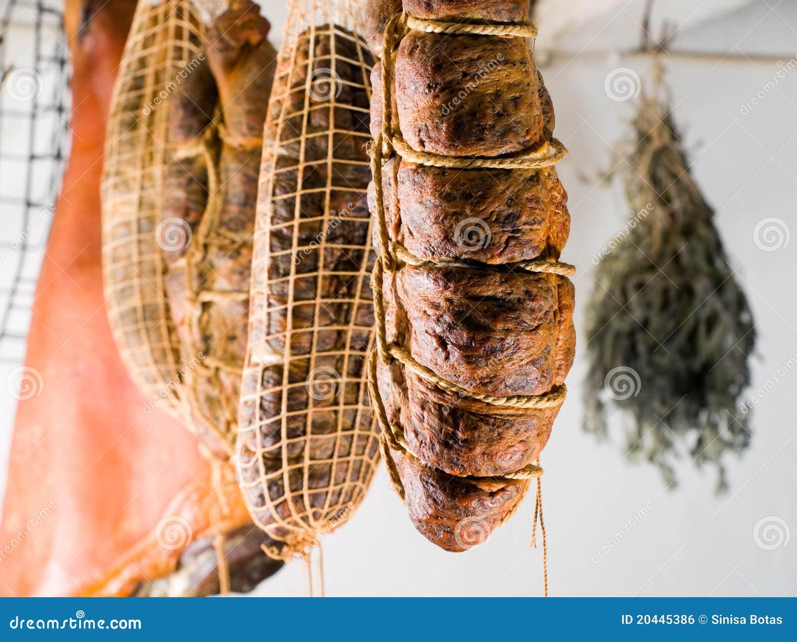 Geräuchertes Fleisch
