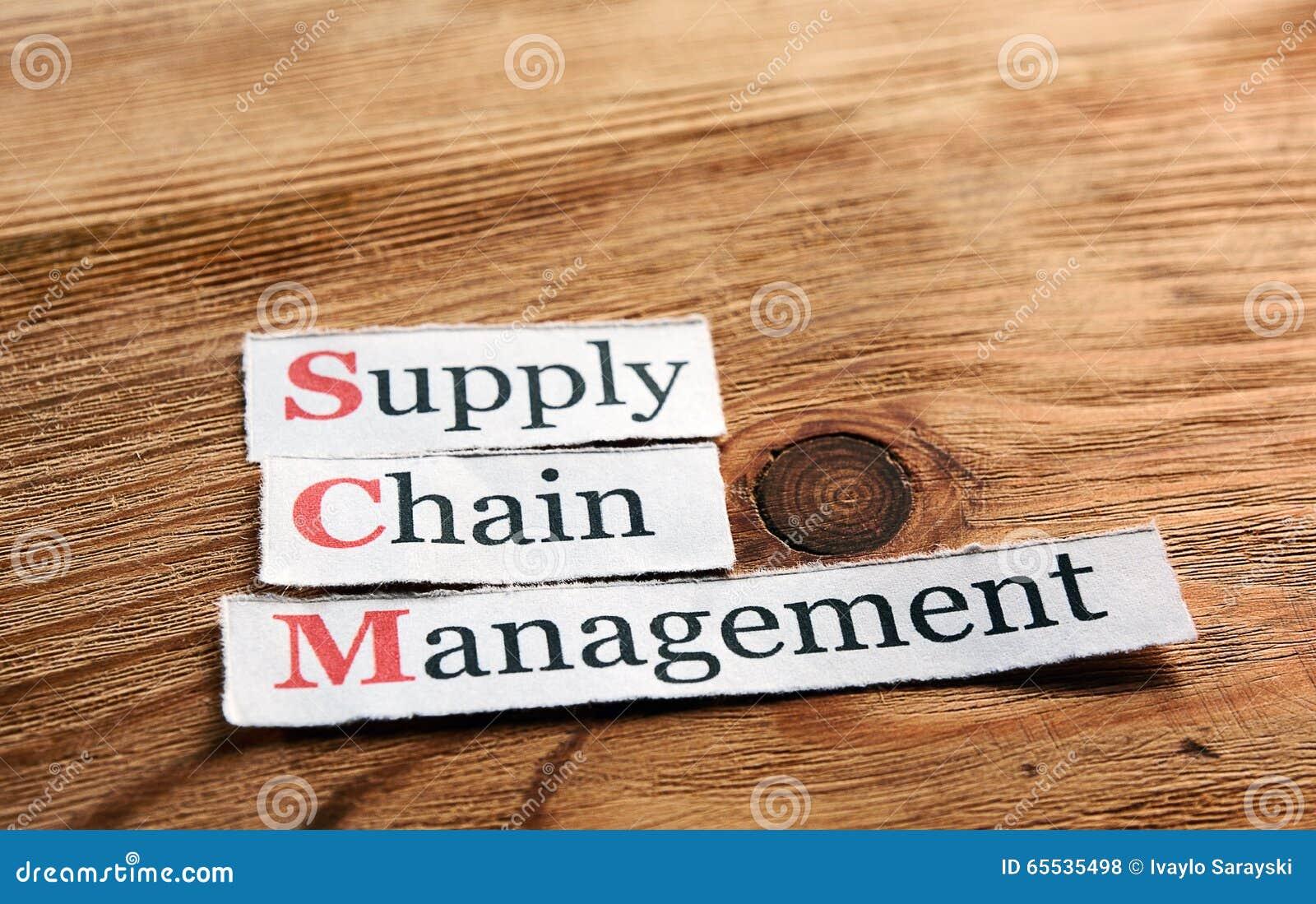 Gerência da cadeia de aprovisionamento de SCM