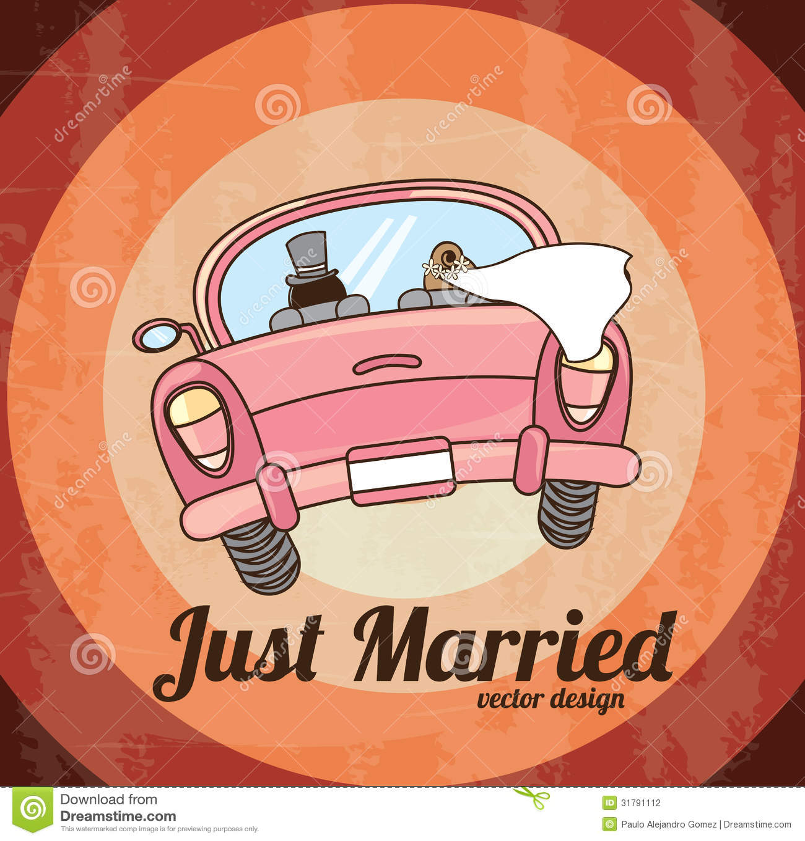 Gerade geheiratet