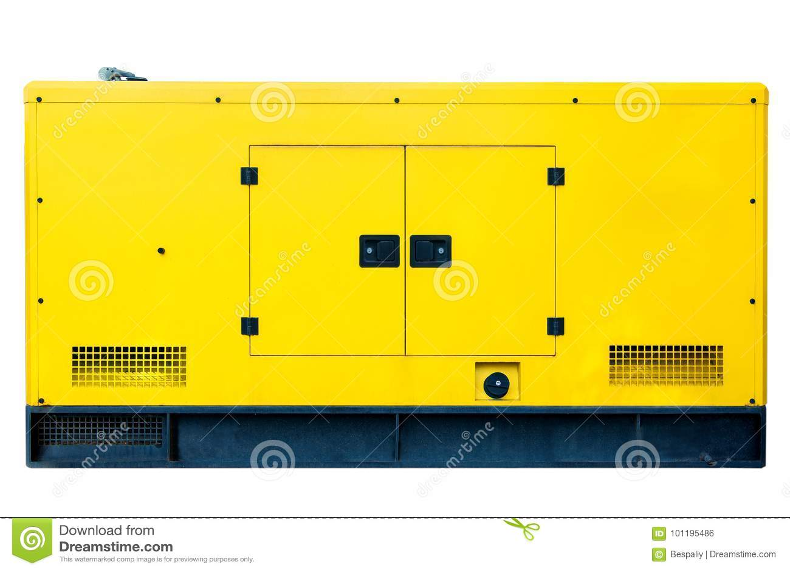 Gerador diesel alternativo grande para o uso comercial