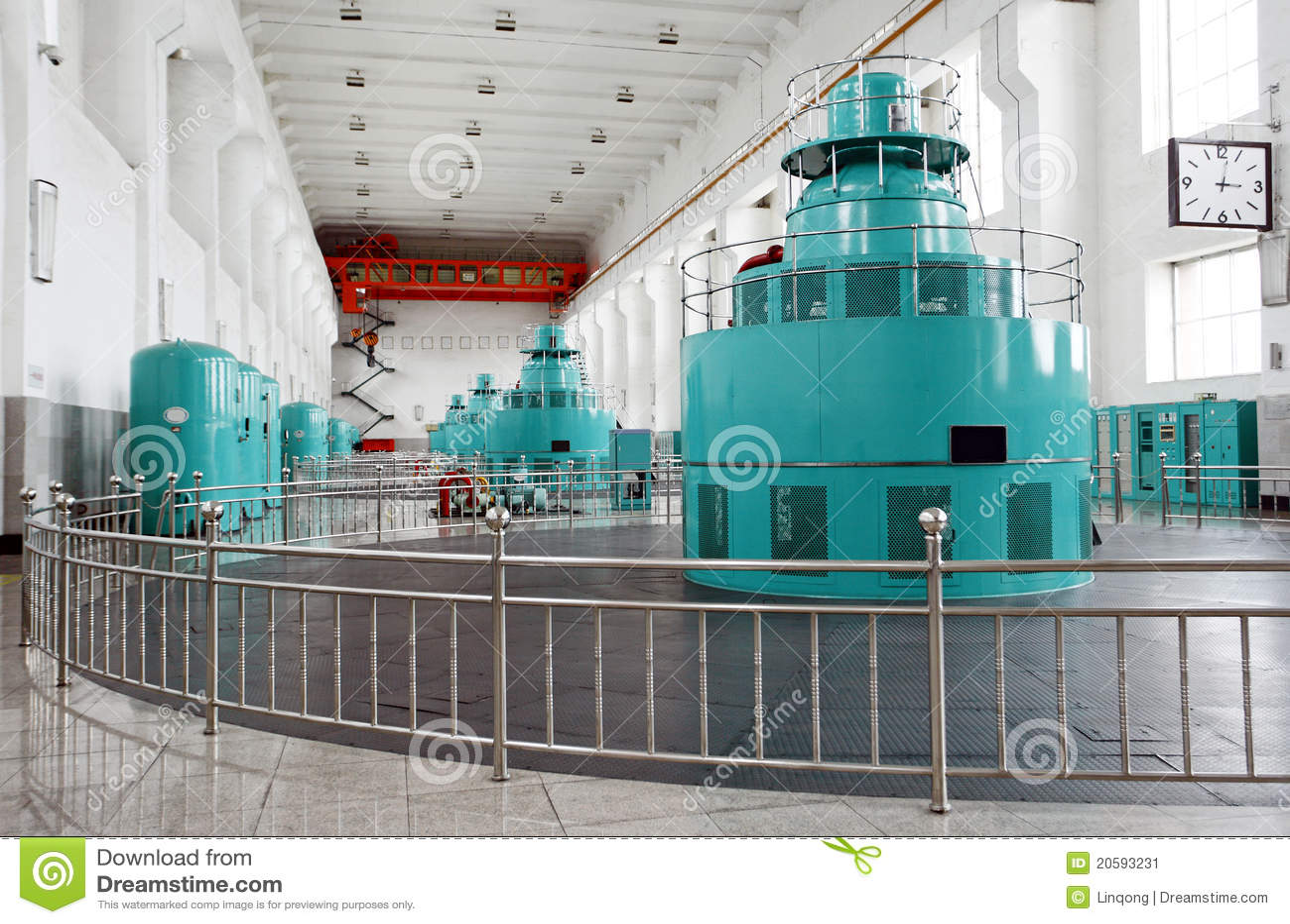 Gerador do Water-turbine