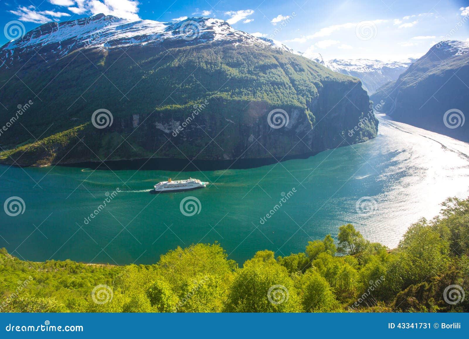 Geranger海湾巡航,挪威