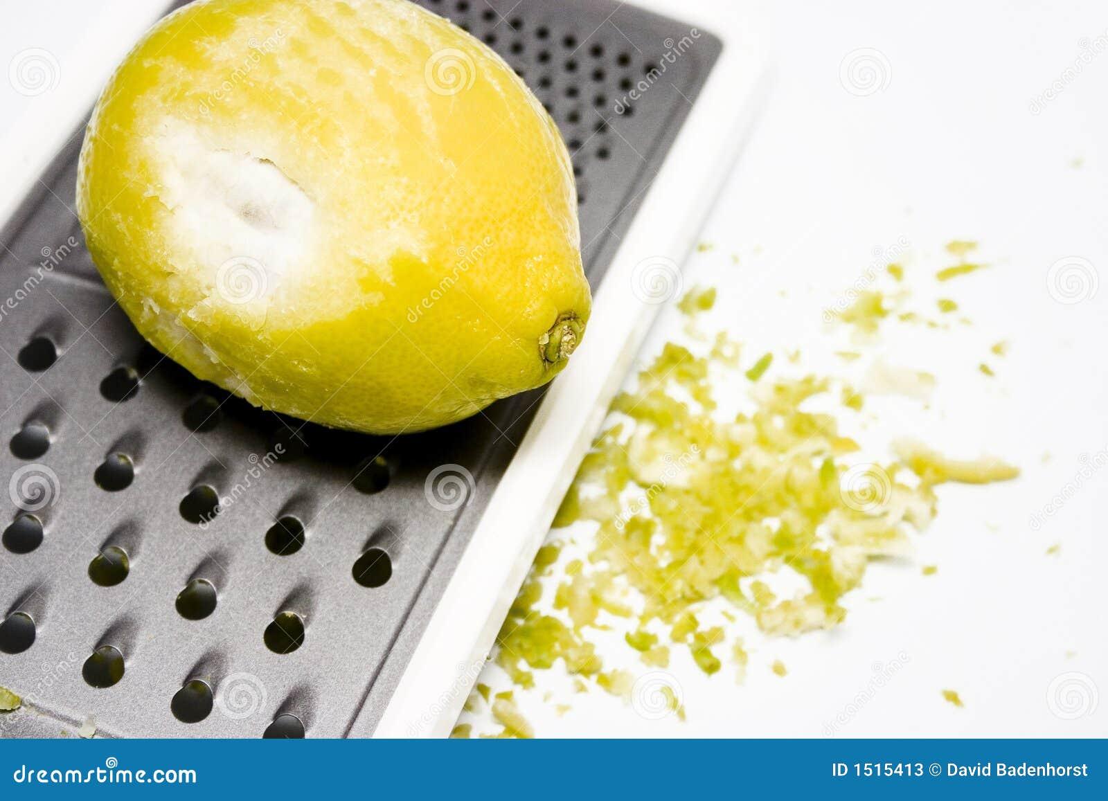 Geraspte citroenschil
