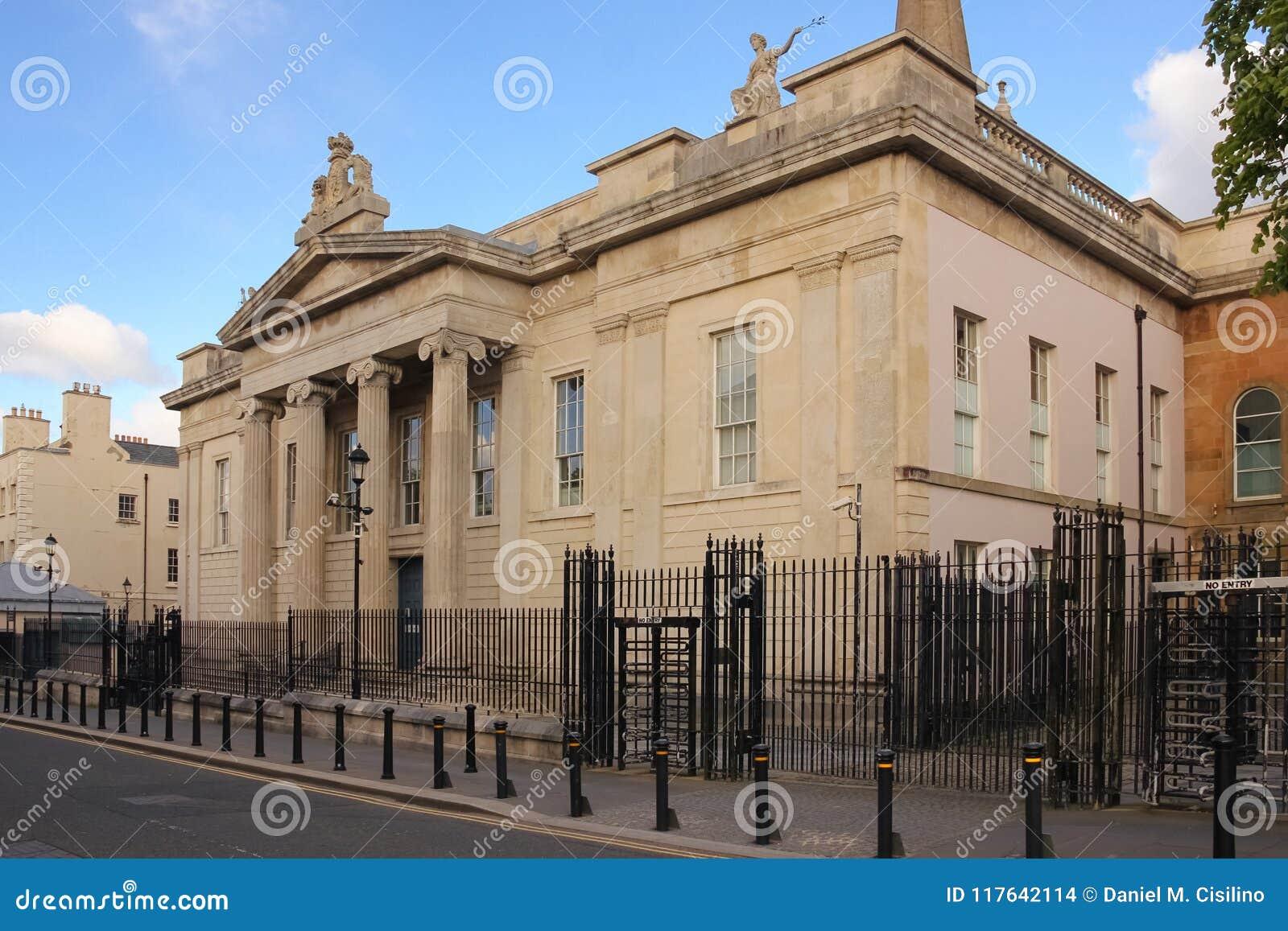 Gerechtsgebouw Derry Londonderry Noord-Ierland Het Verenigd Koninkrijk