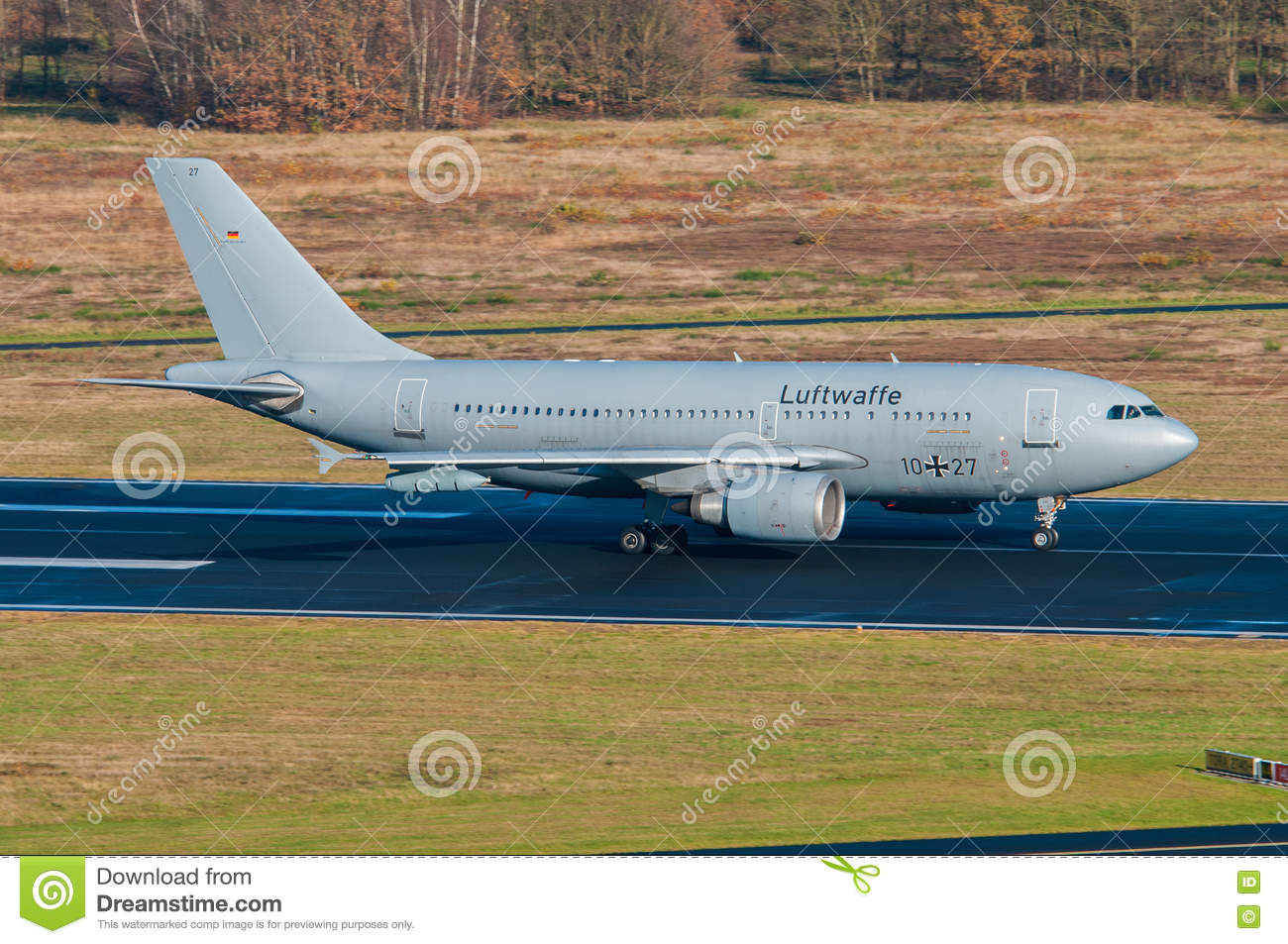 German Air Force Airbus A310 Editorial Image - Image of
