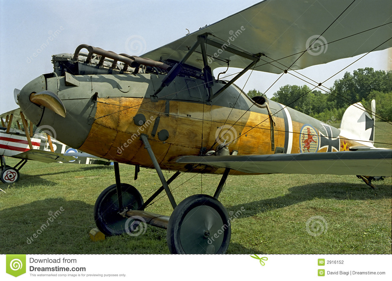 German albatross from wwi stock photography image 2916152