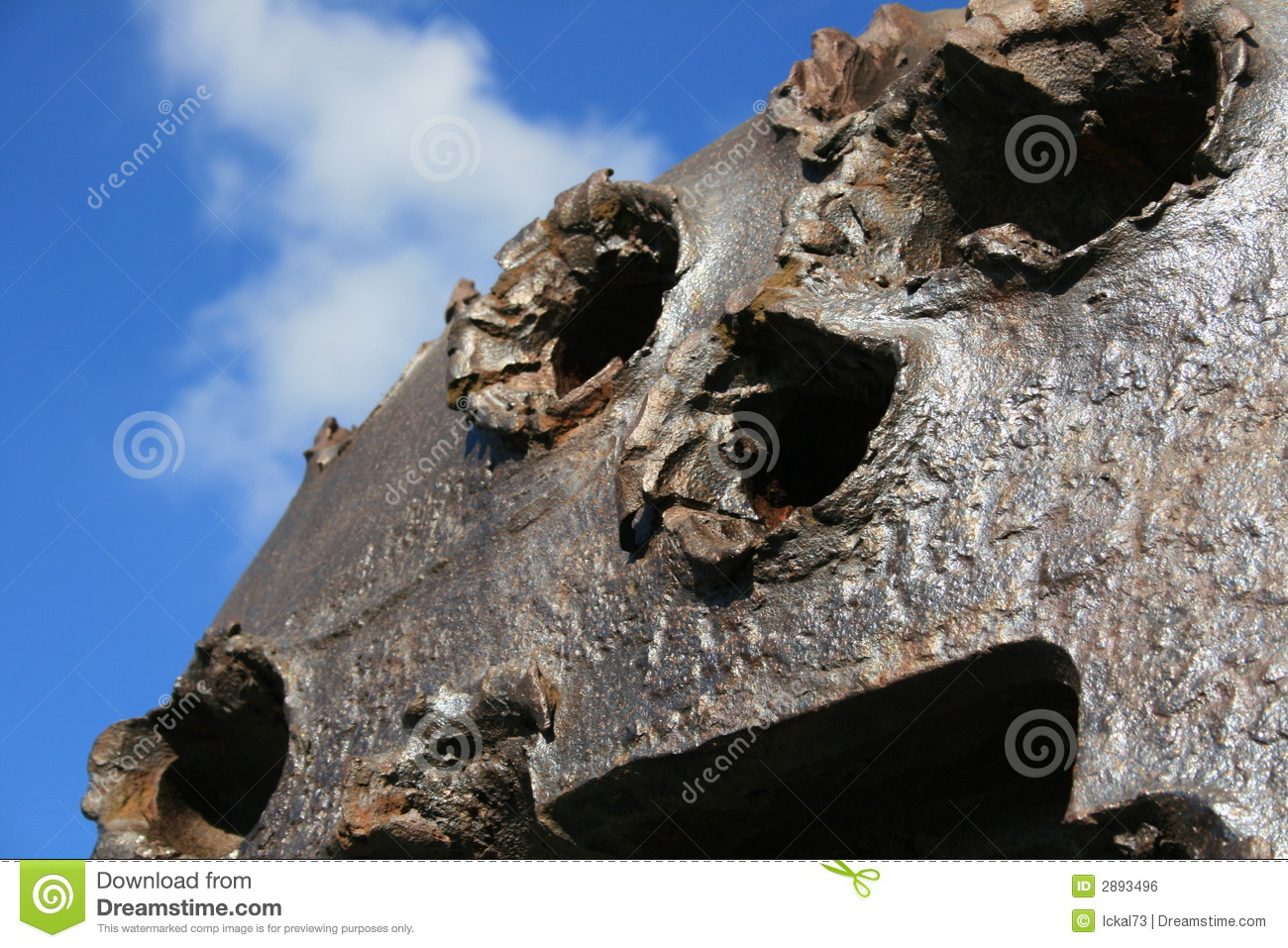 German Bunker Omaha Beach Royalty Free Stock Image  Image