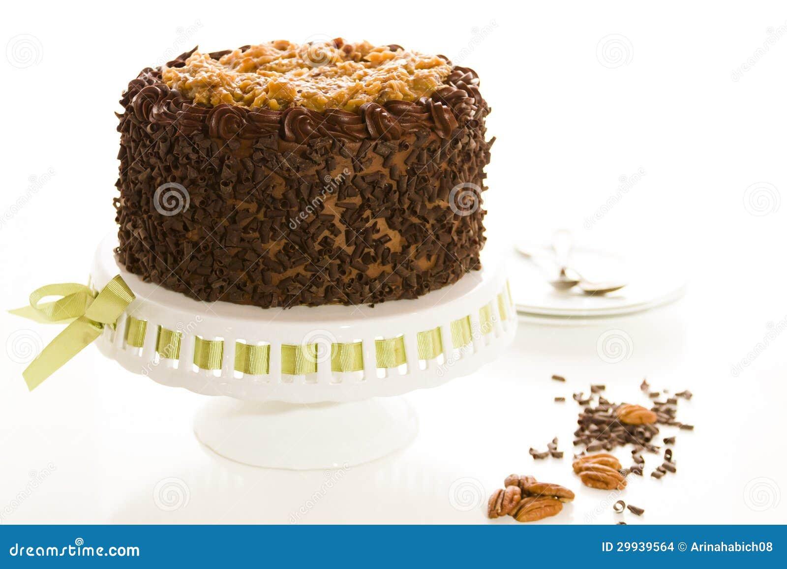 German Chocolate Cake Stock Images - Image: 29939564